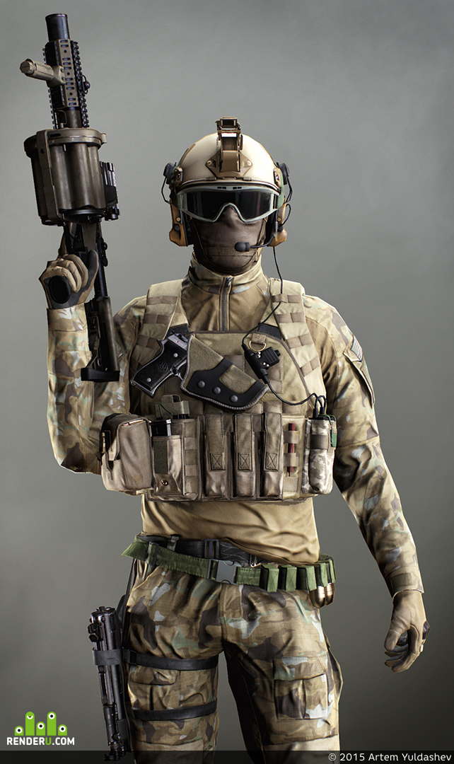 preview US Special Force Soldier