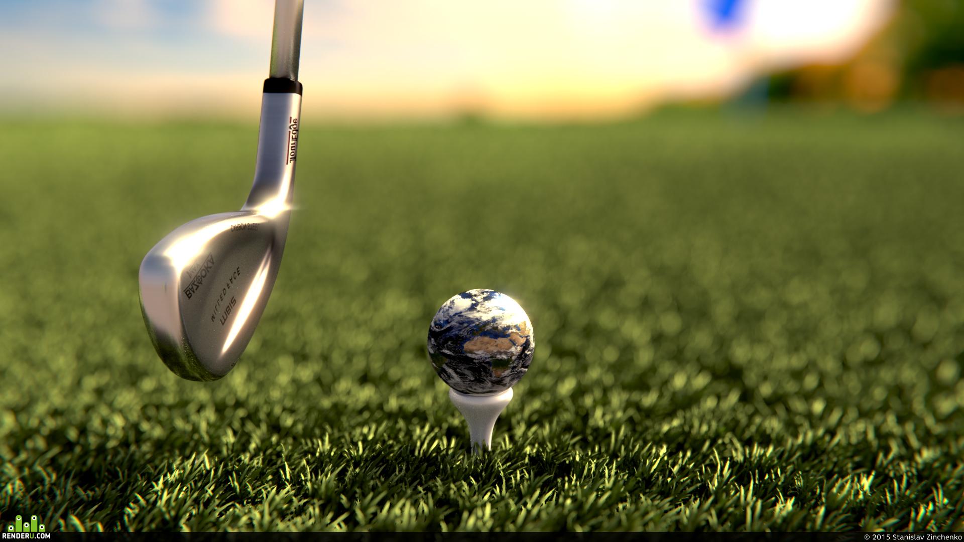 preview Планетарный гольф