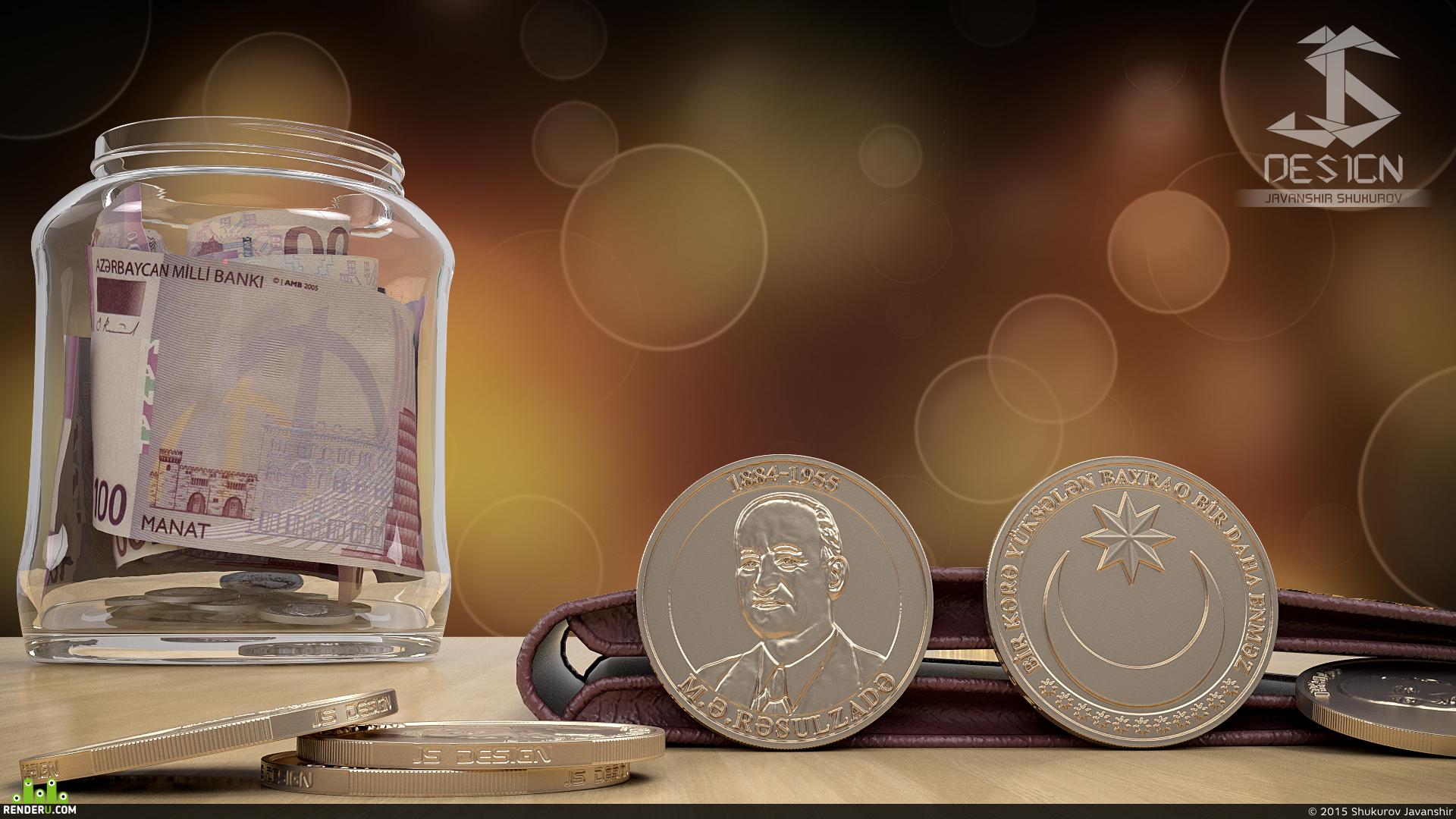 preview Дизайн Монета