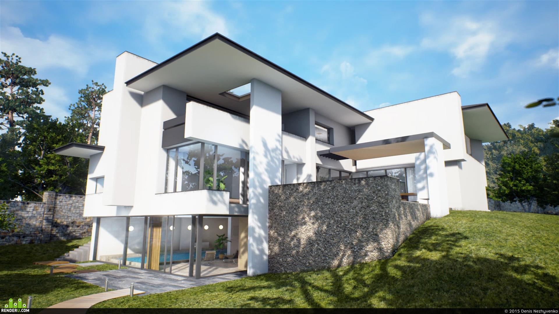 preview Дом в Германии UE4