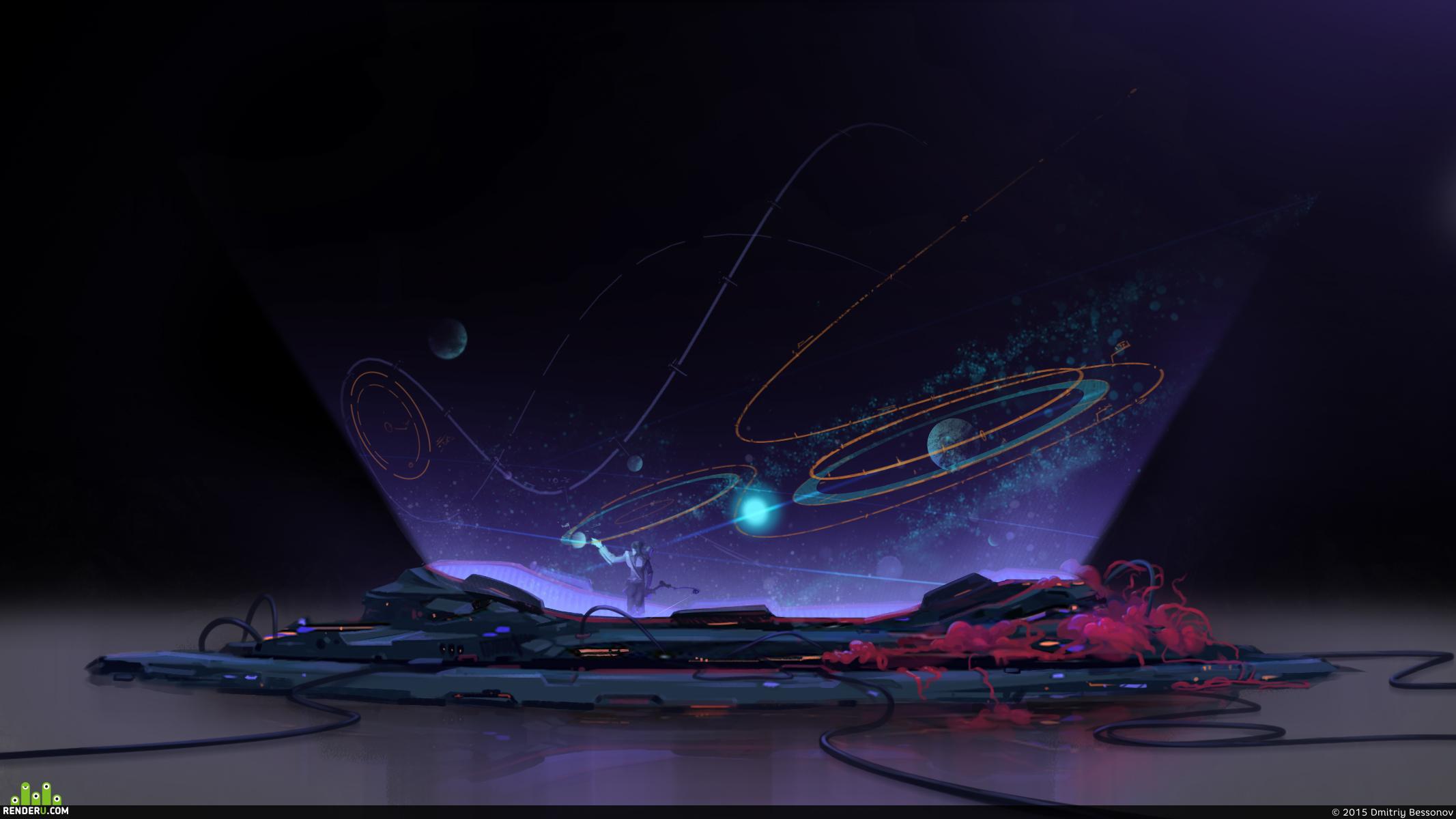 preview космическая карта