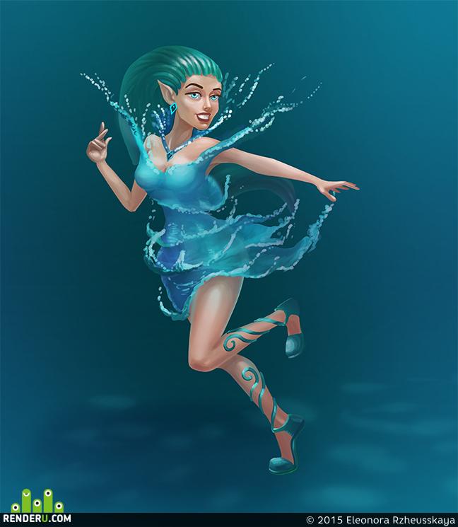 preview Водяная девочка