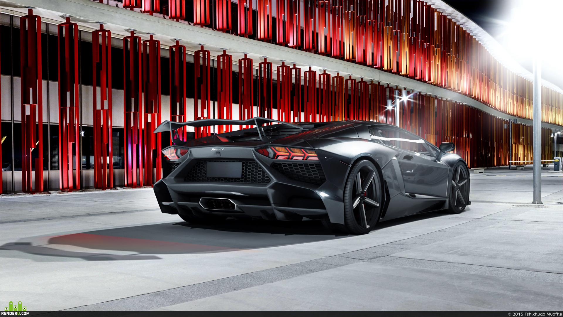preview Lamborghini Aventador