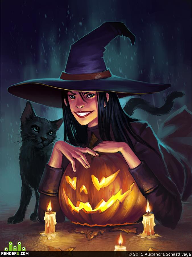 preview Хэллоуин фивер