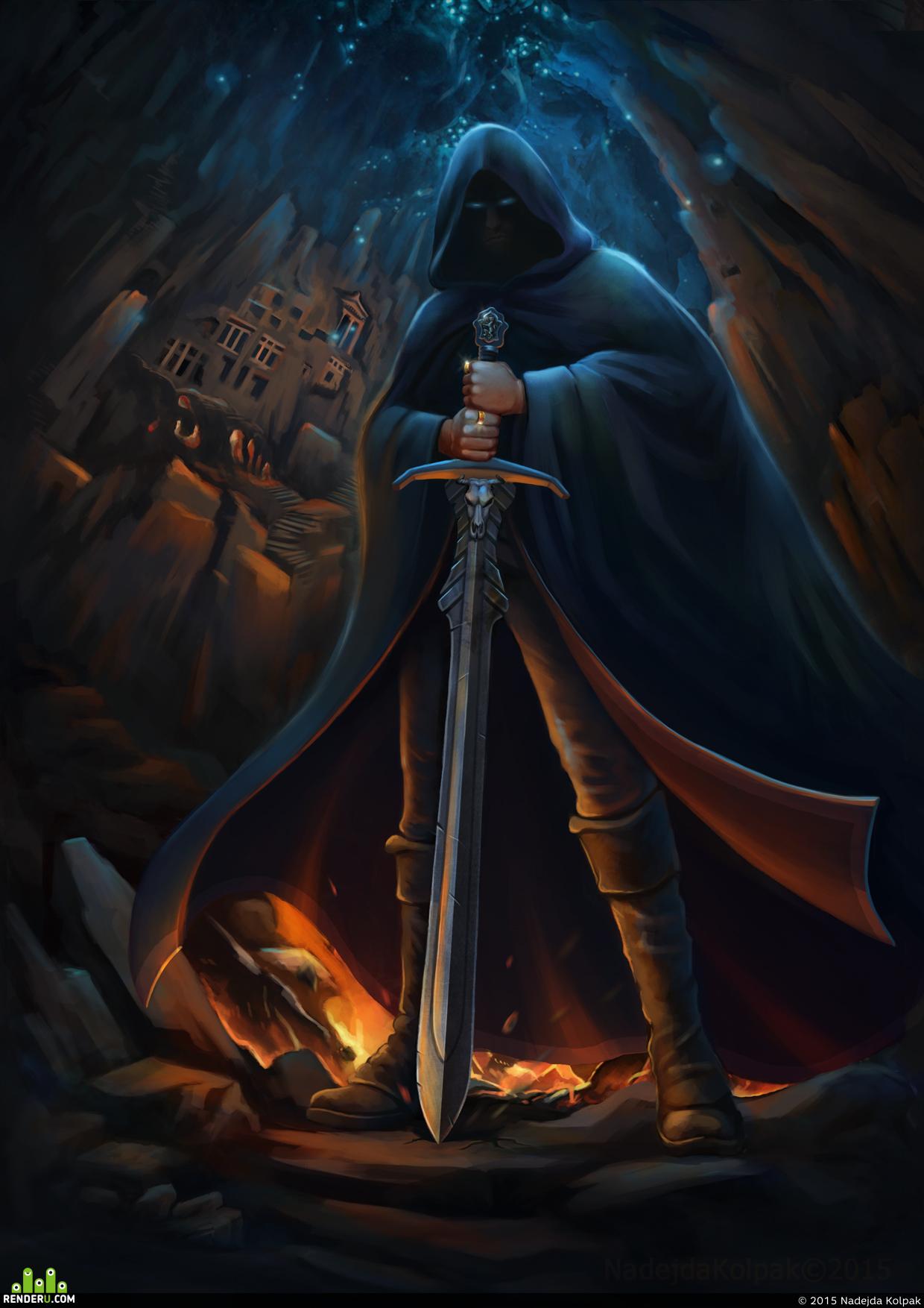 preview Подземное Царство иллюстрация для обложки