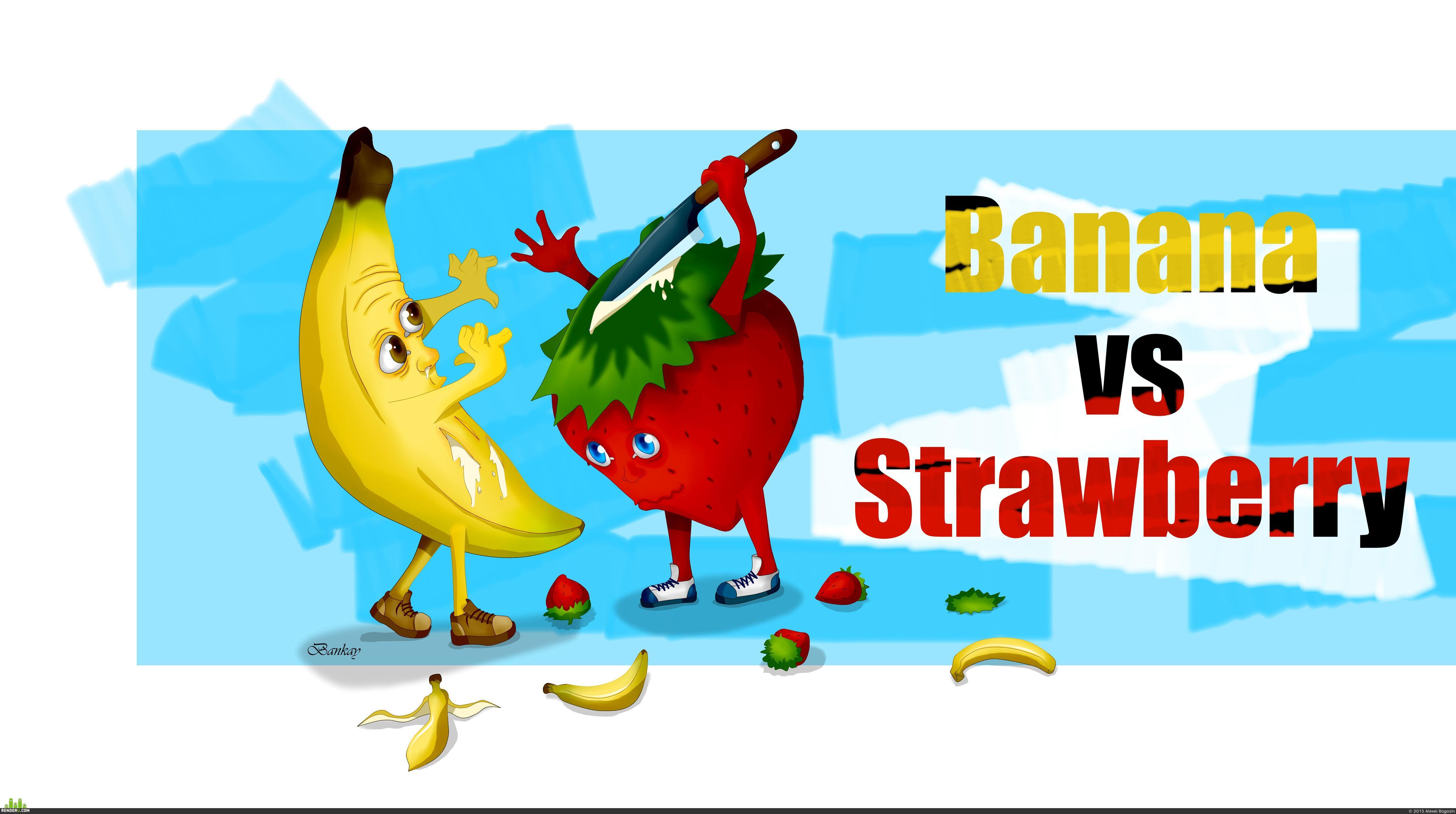 preview Клубничка против банана
