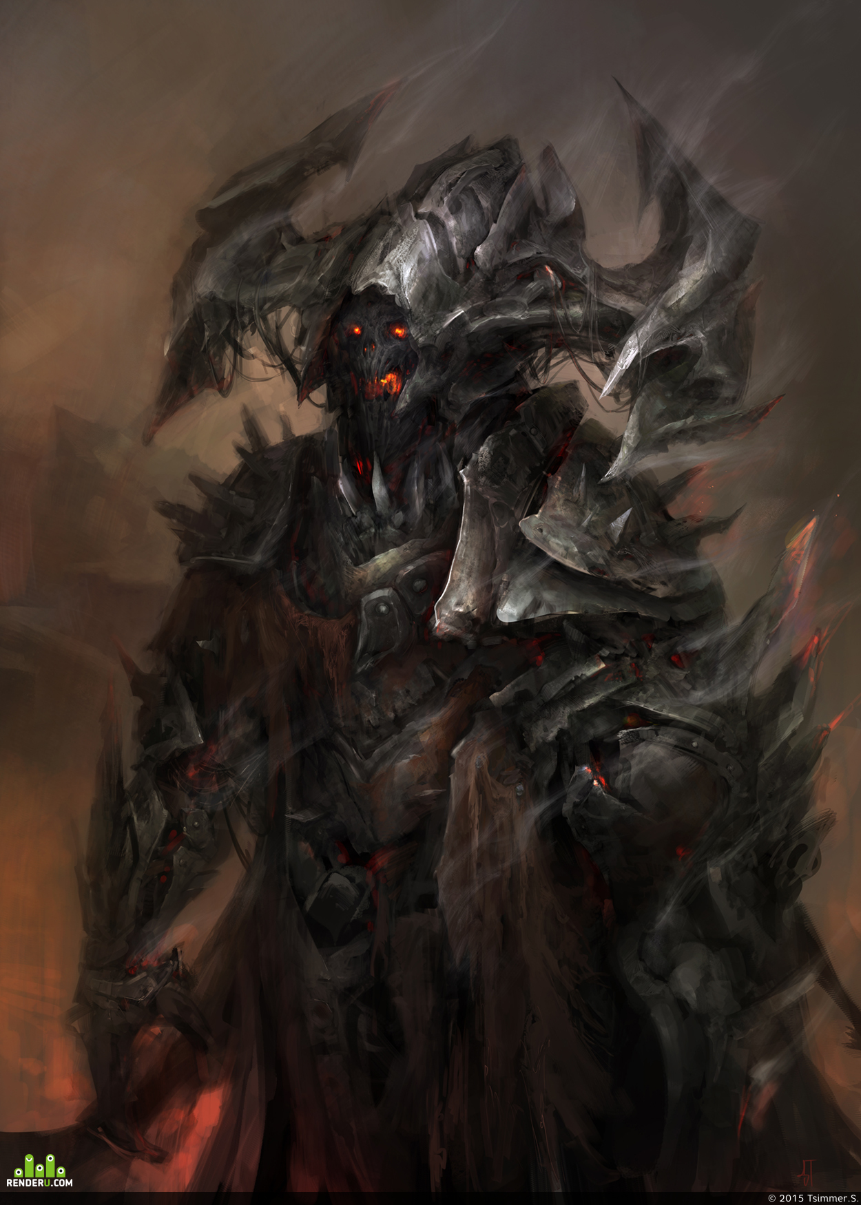 preview Concept Demon For The Soul Reaper