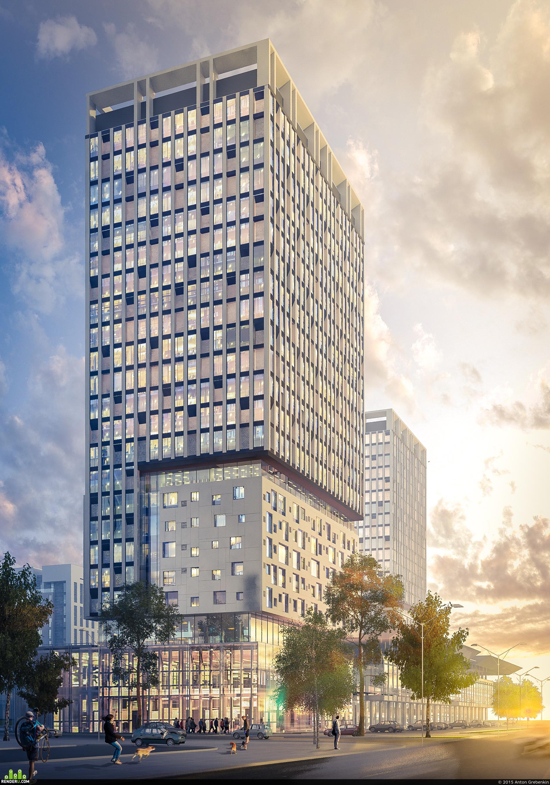 preview Жилой комплекс в г. Астана