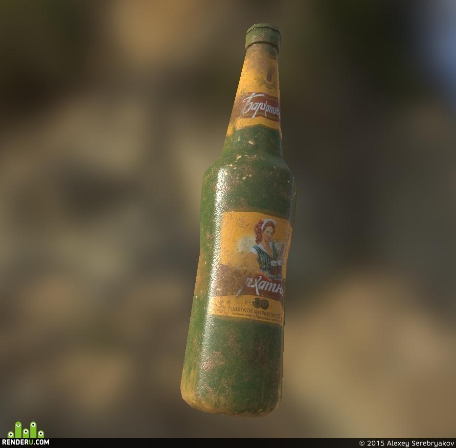 preview Пивная бутылка