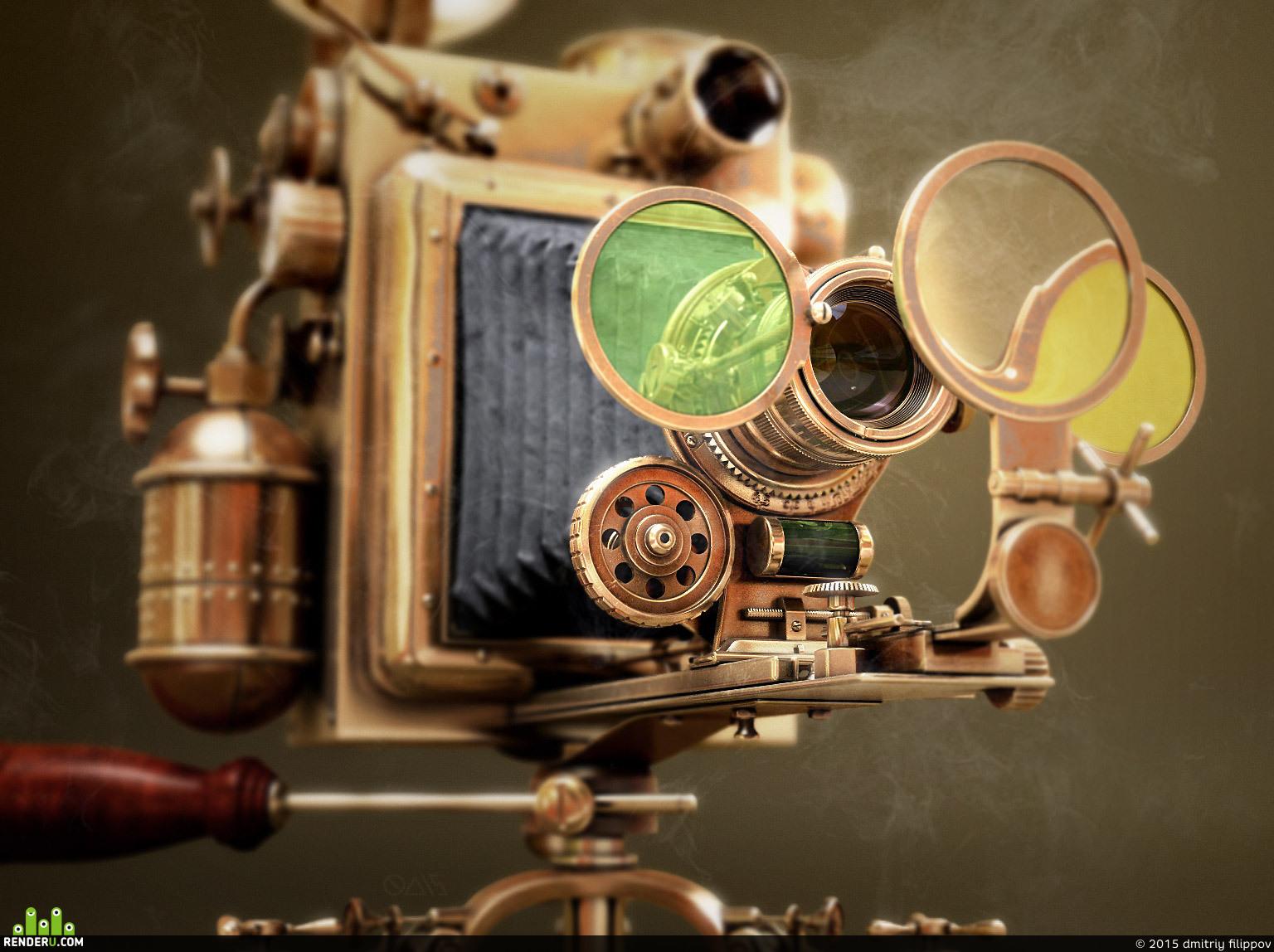 preview Steampunk camera