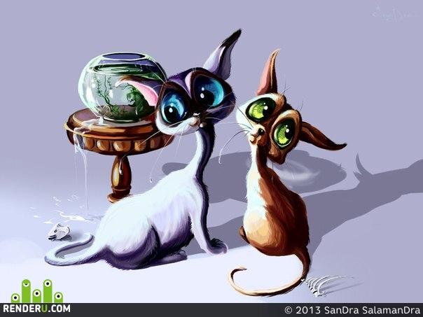 preview Забавные котята