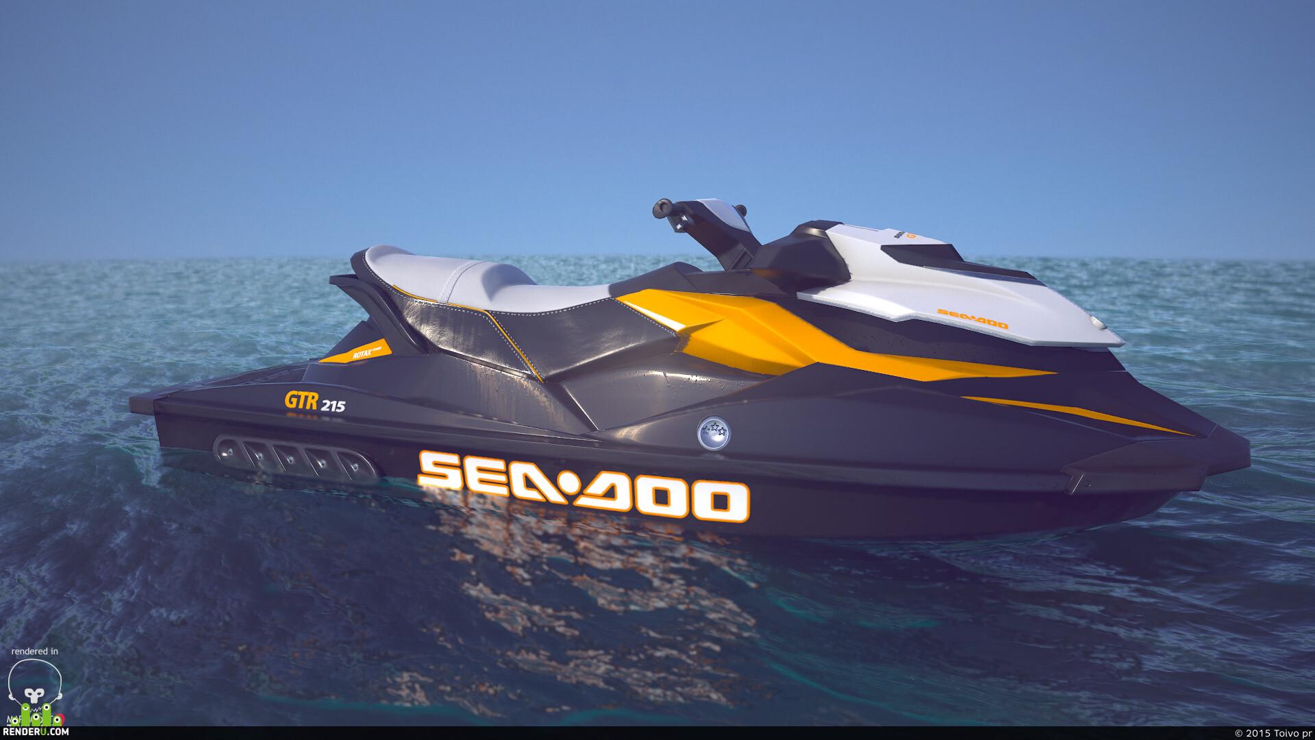 preview Водный скутер