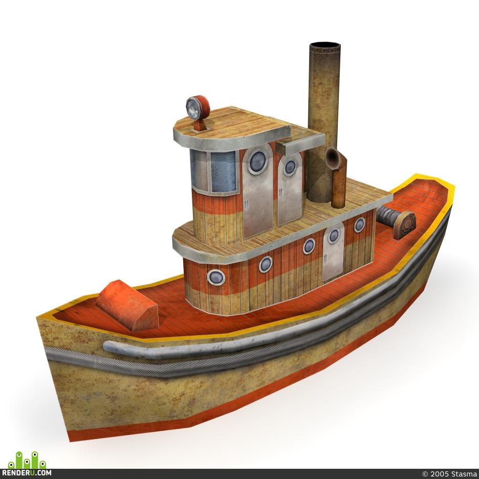 preview Корабль из бумаги