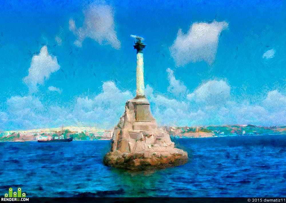 preview Севастополь – памятник затопленным кораблям