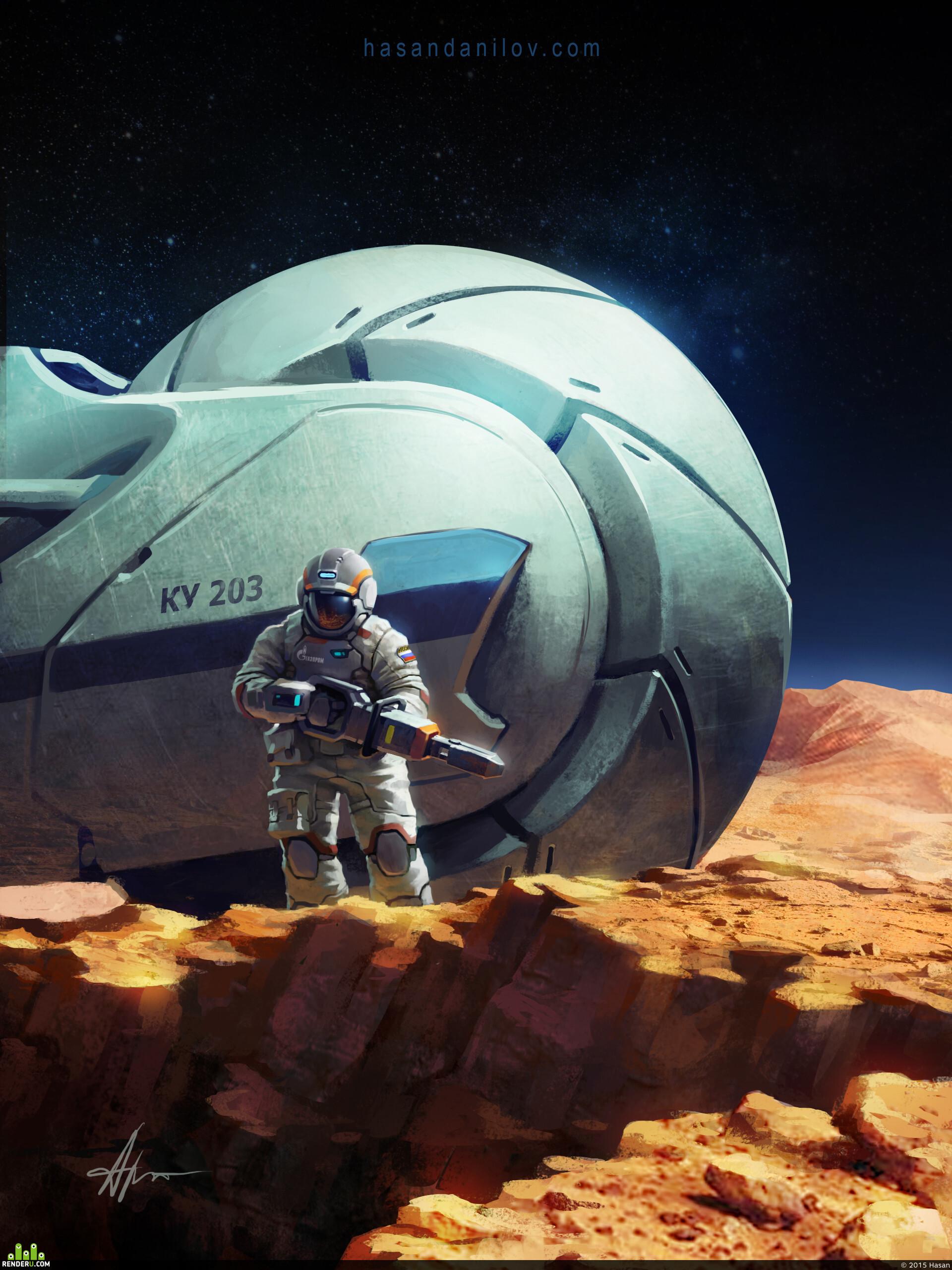 preview Газпром на Марсе