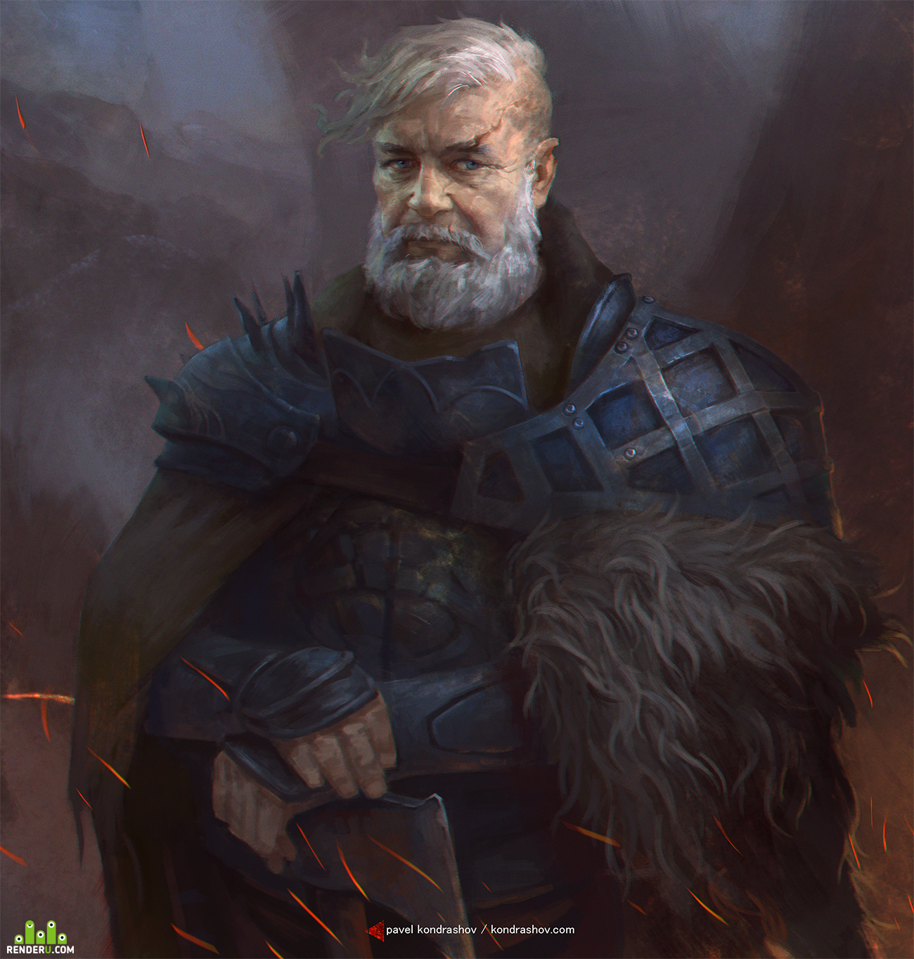 preview portraits of warriors