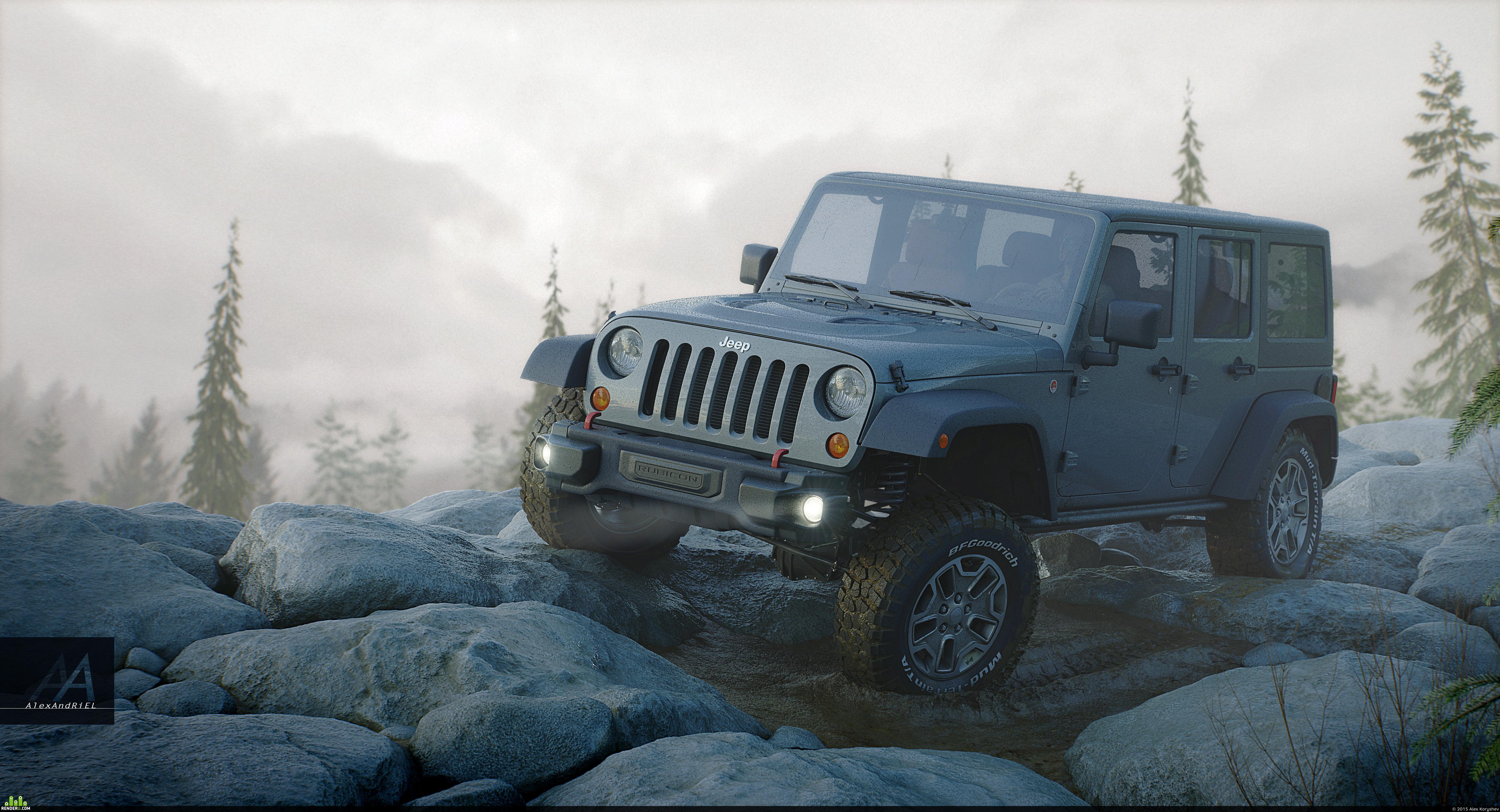preview Jeep Wrangler Rubicon