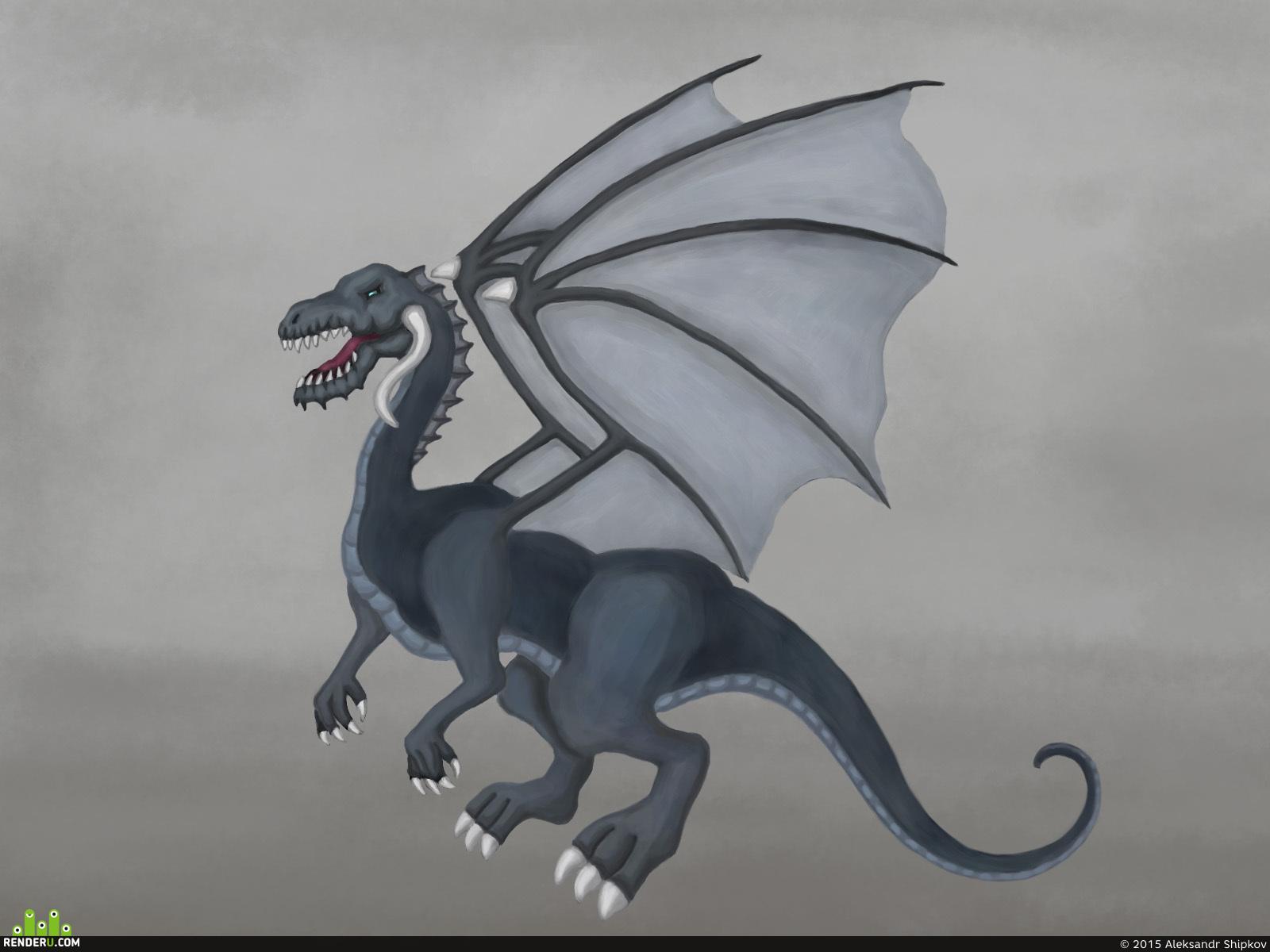 preview Сизый Дракон