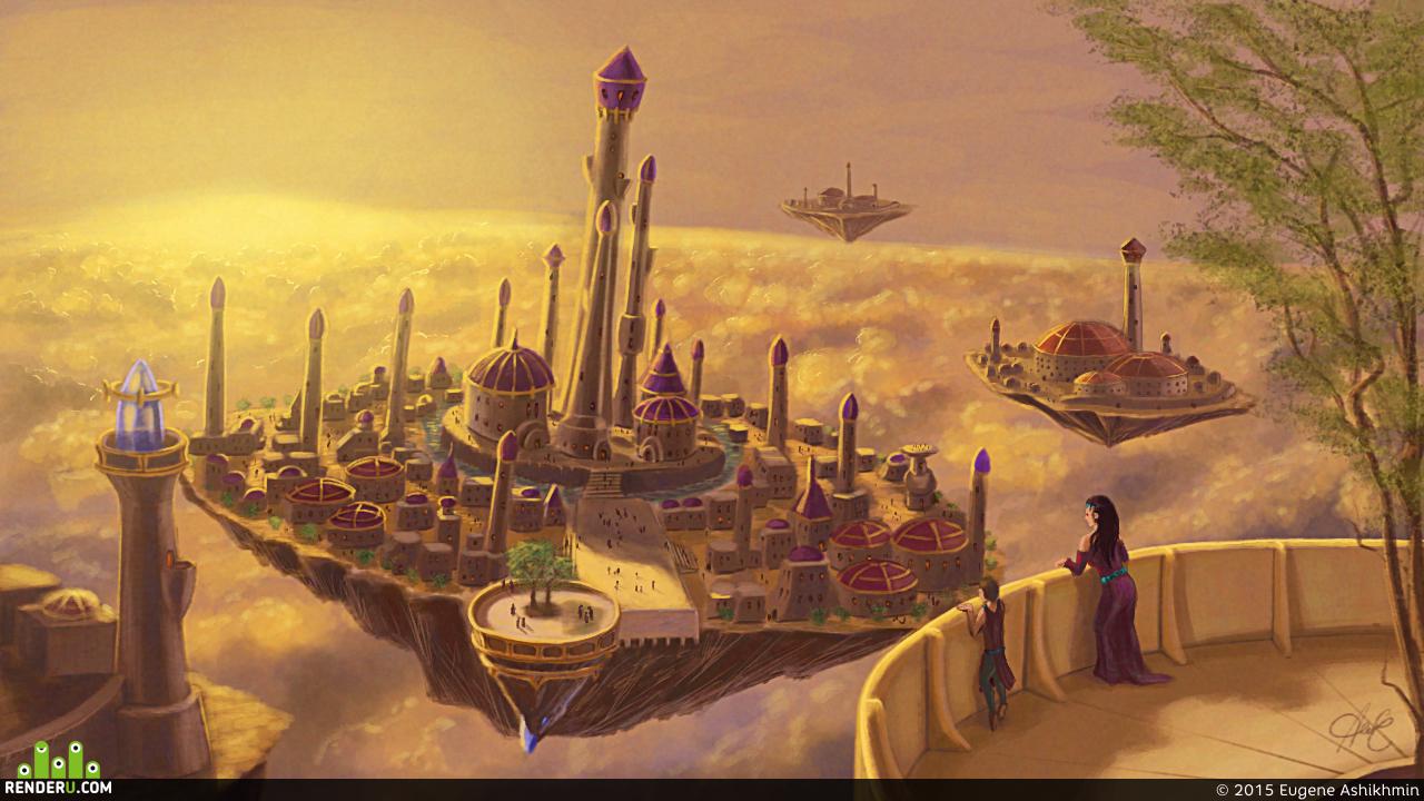 preview Небесный город