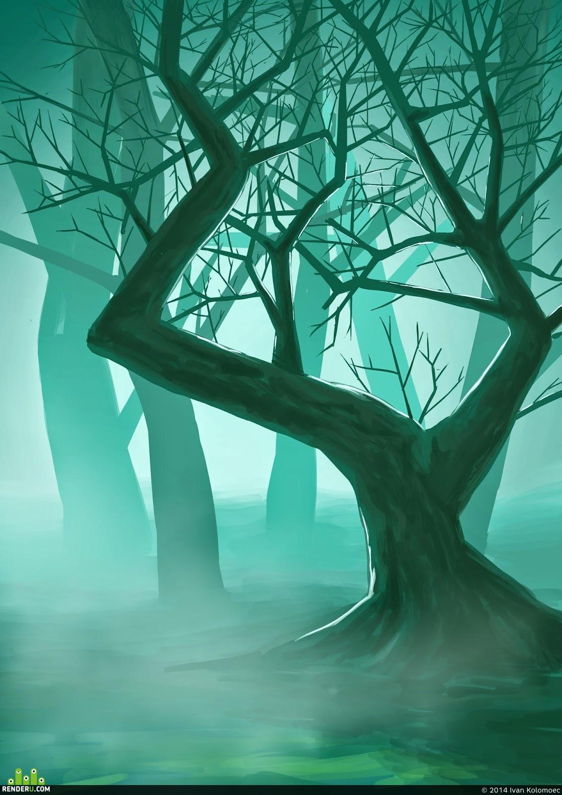 preview Дремучий лес