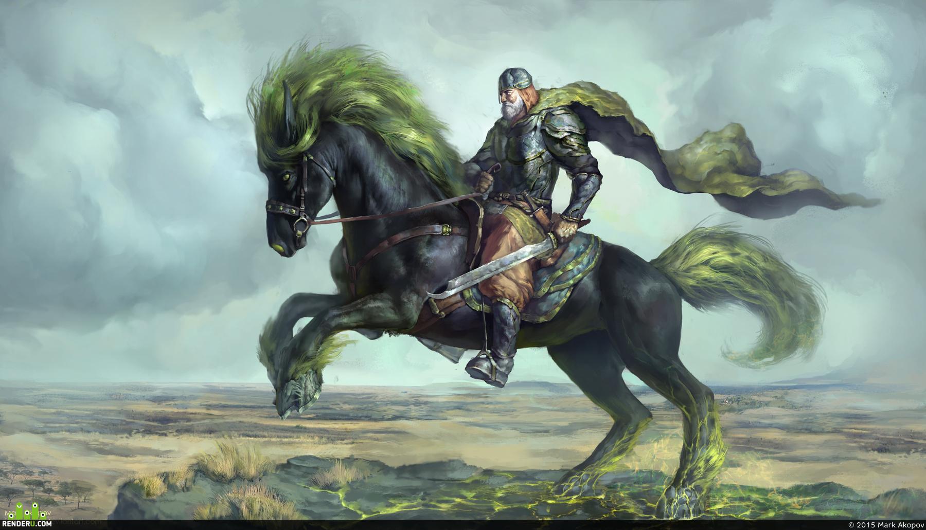 preview Воин на лошади