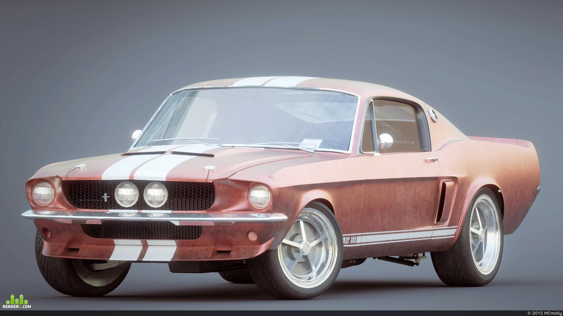 preview Ford Mustang Shelby 1967