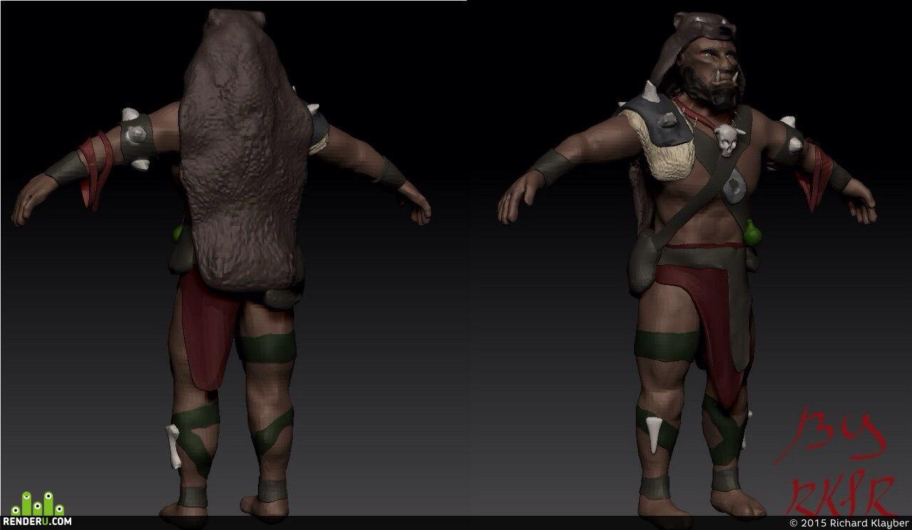 preview Орк шаман