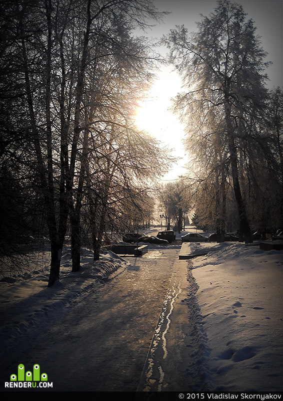 preview Парк зимой.