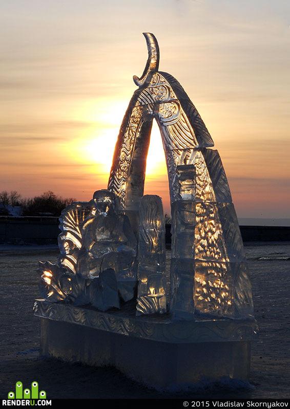 preview Ледяная скульптура