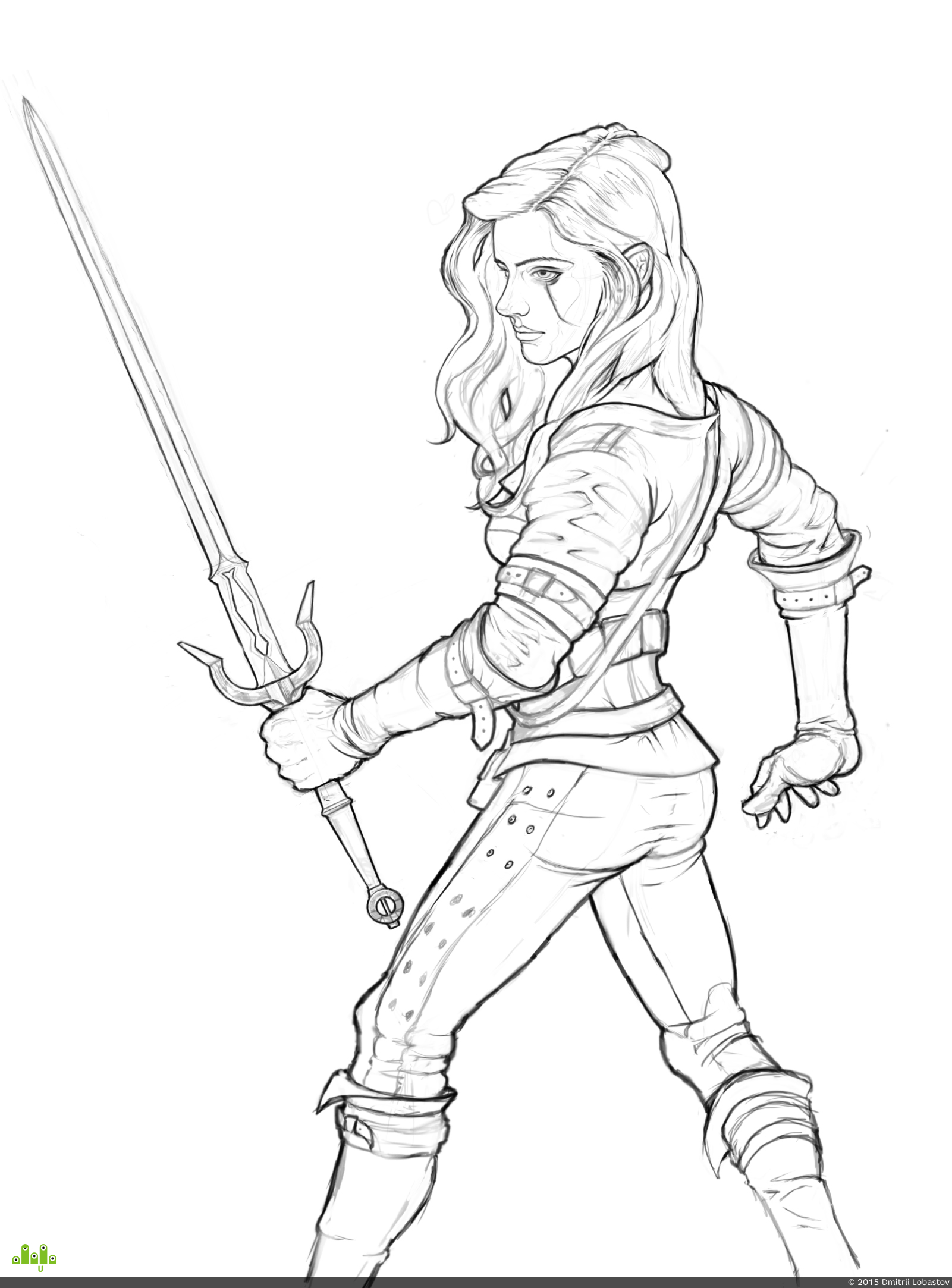 preview Ciri from Witcher3 Wild Hunt