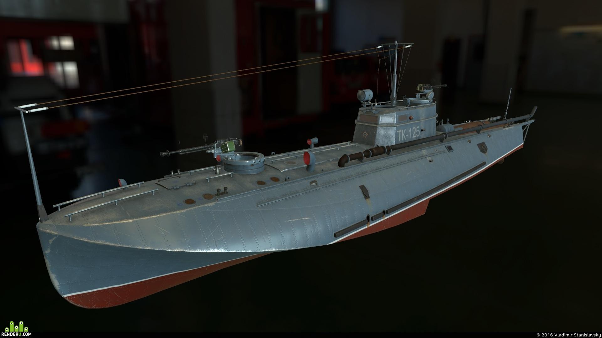preview Торпедный катер Г-5