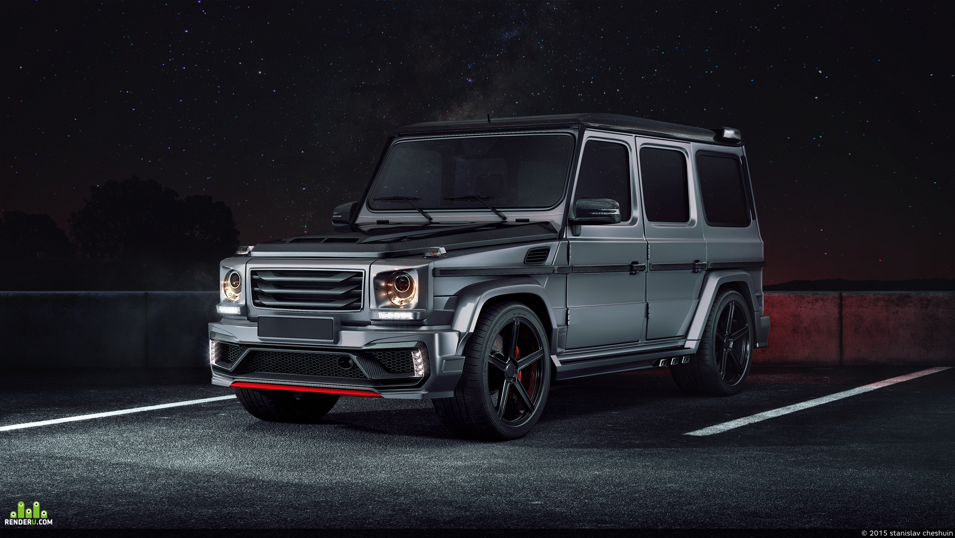 "preview Mercedes-Benz G Klasse ""Black Stone"""