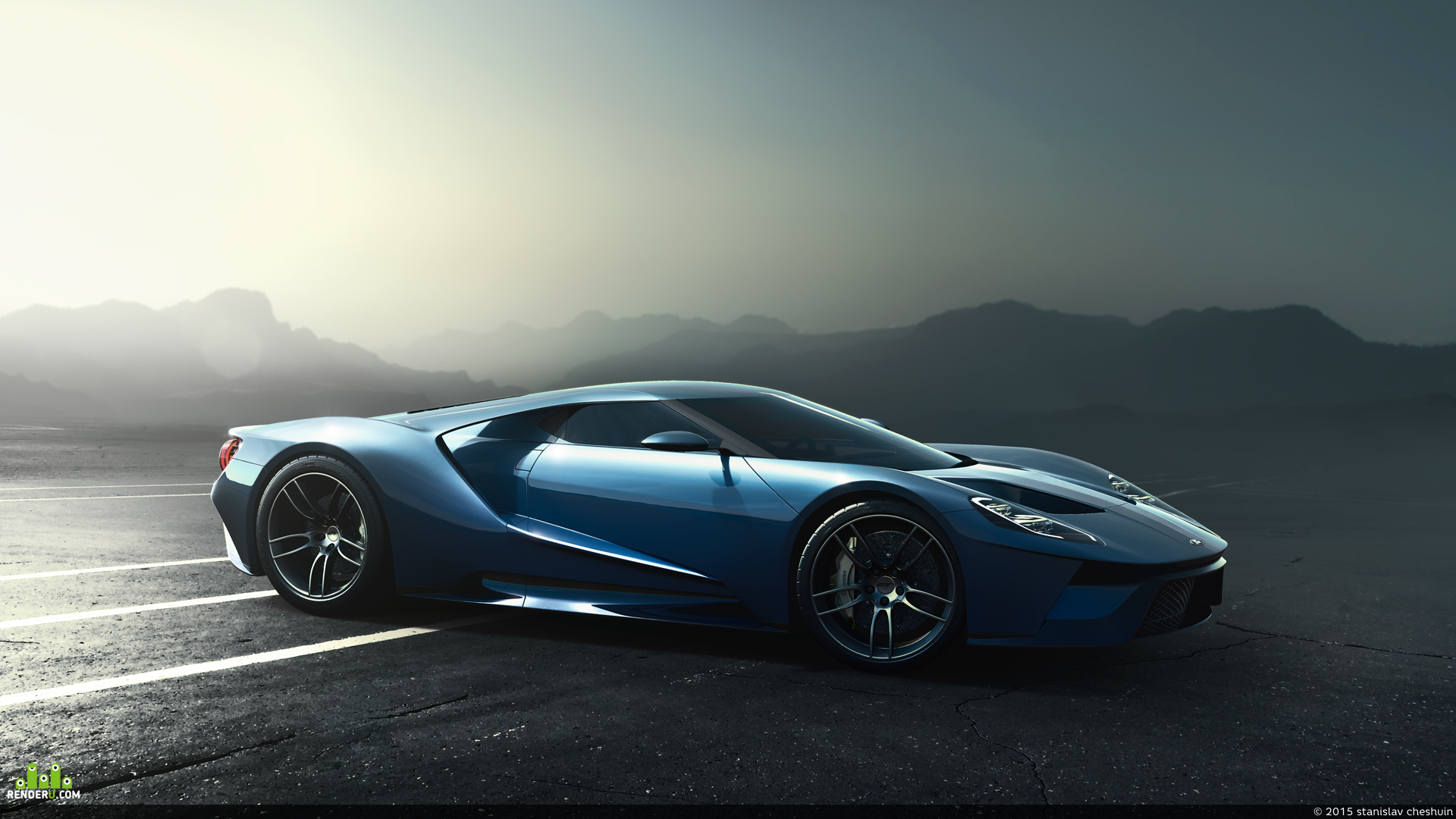 preview Ford GT 2017
