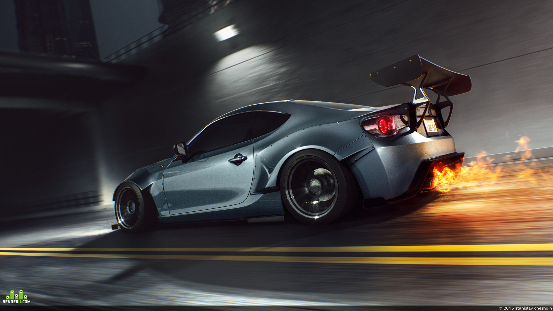 preview Scion FRS - Rocket Bunny