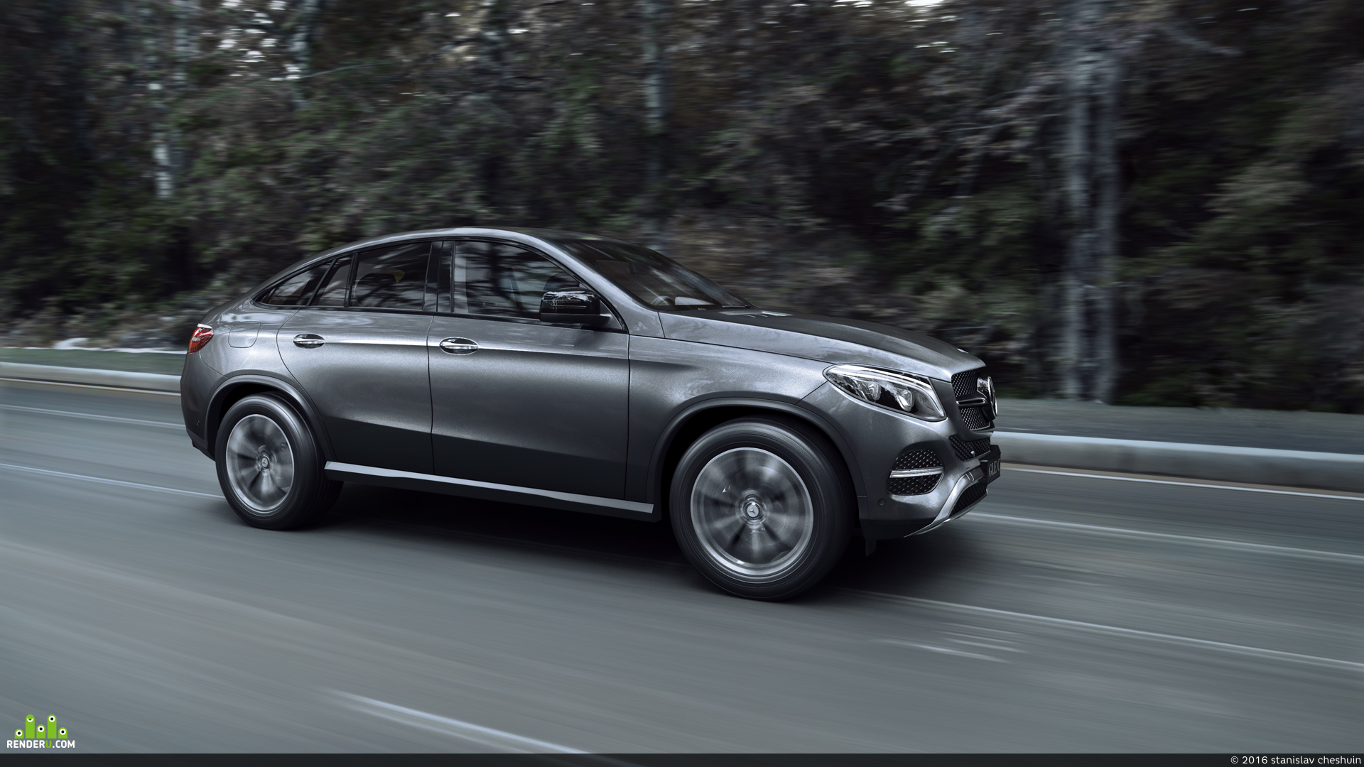preview Mercedes-Benz GLE Coupe 2016