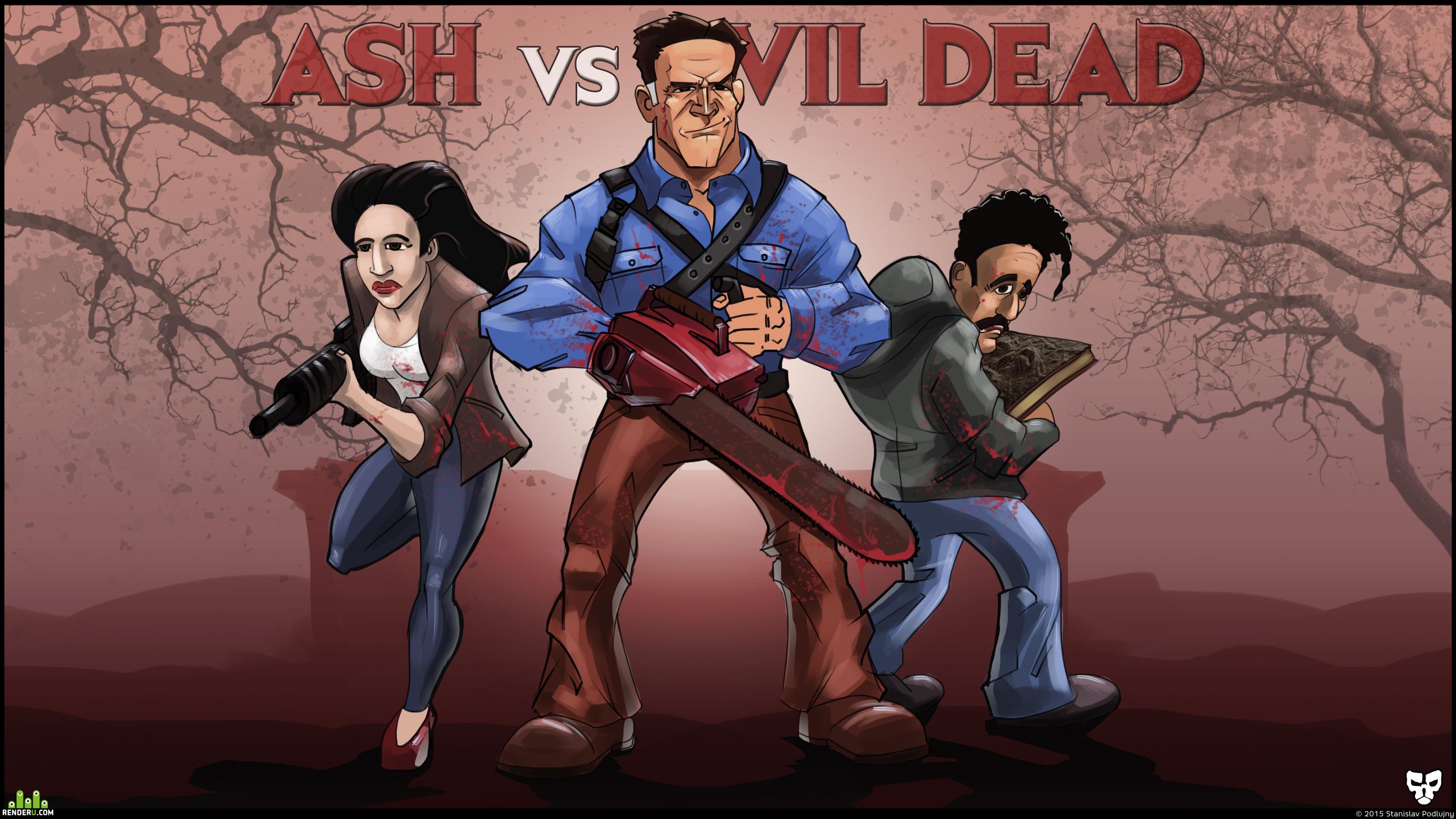preview Эш против зловещих мертвецов