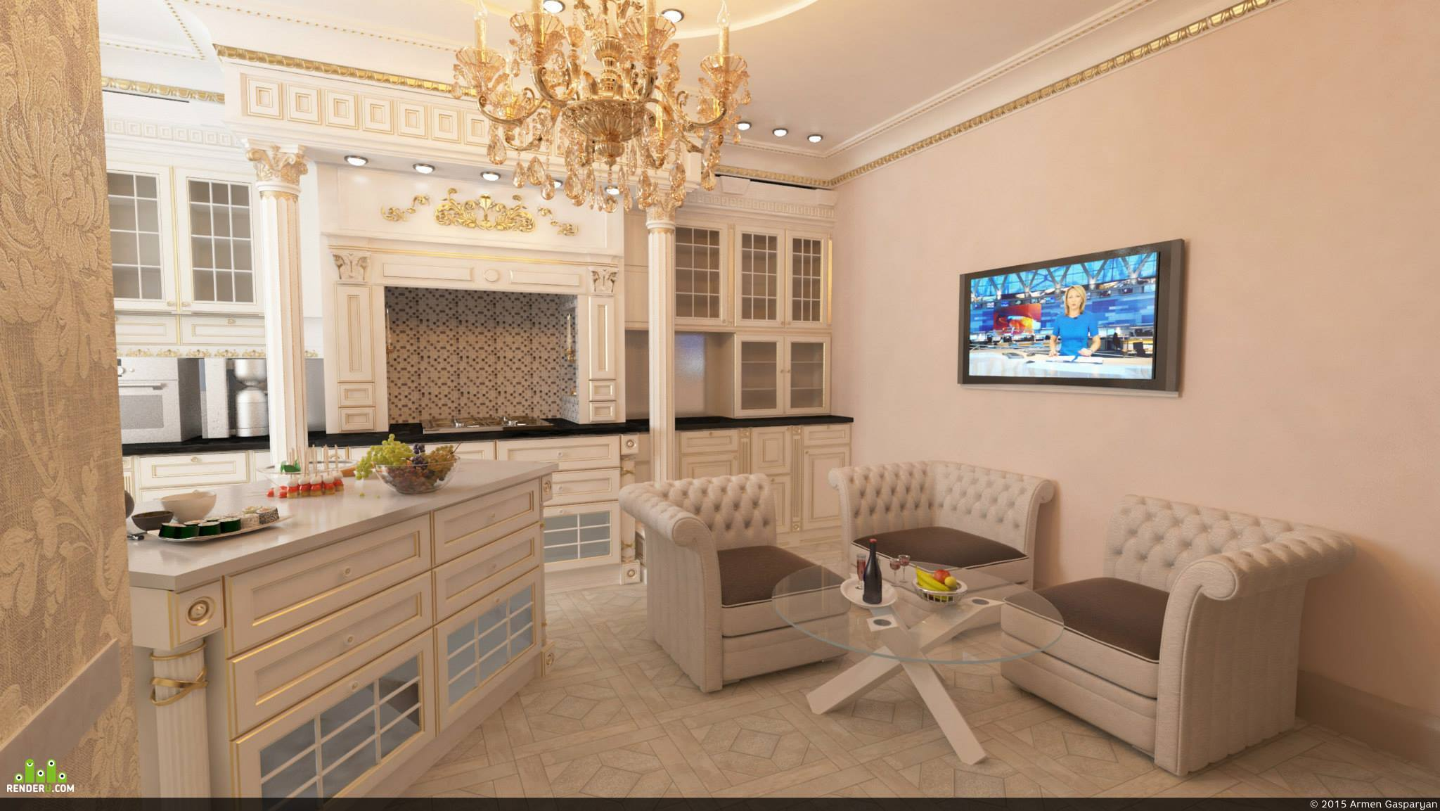 preview Кухня в Москве