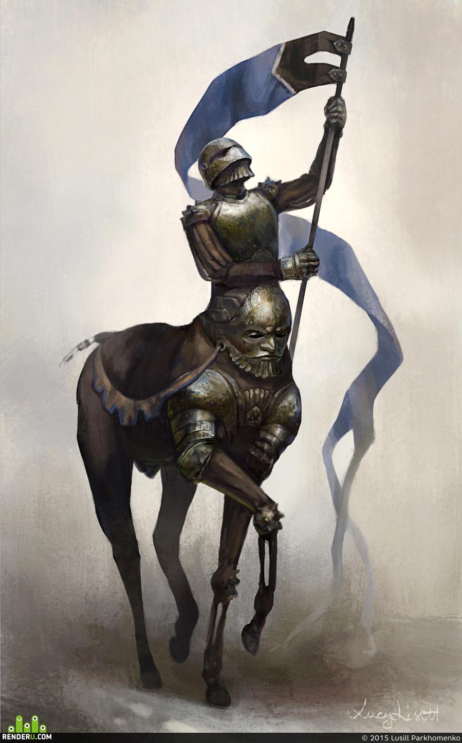 preview Рыцарь-кентавр