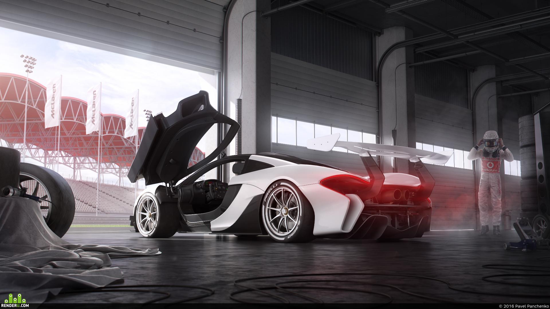 preview Mclaren P1 GTR