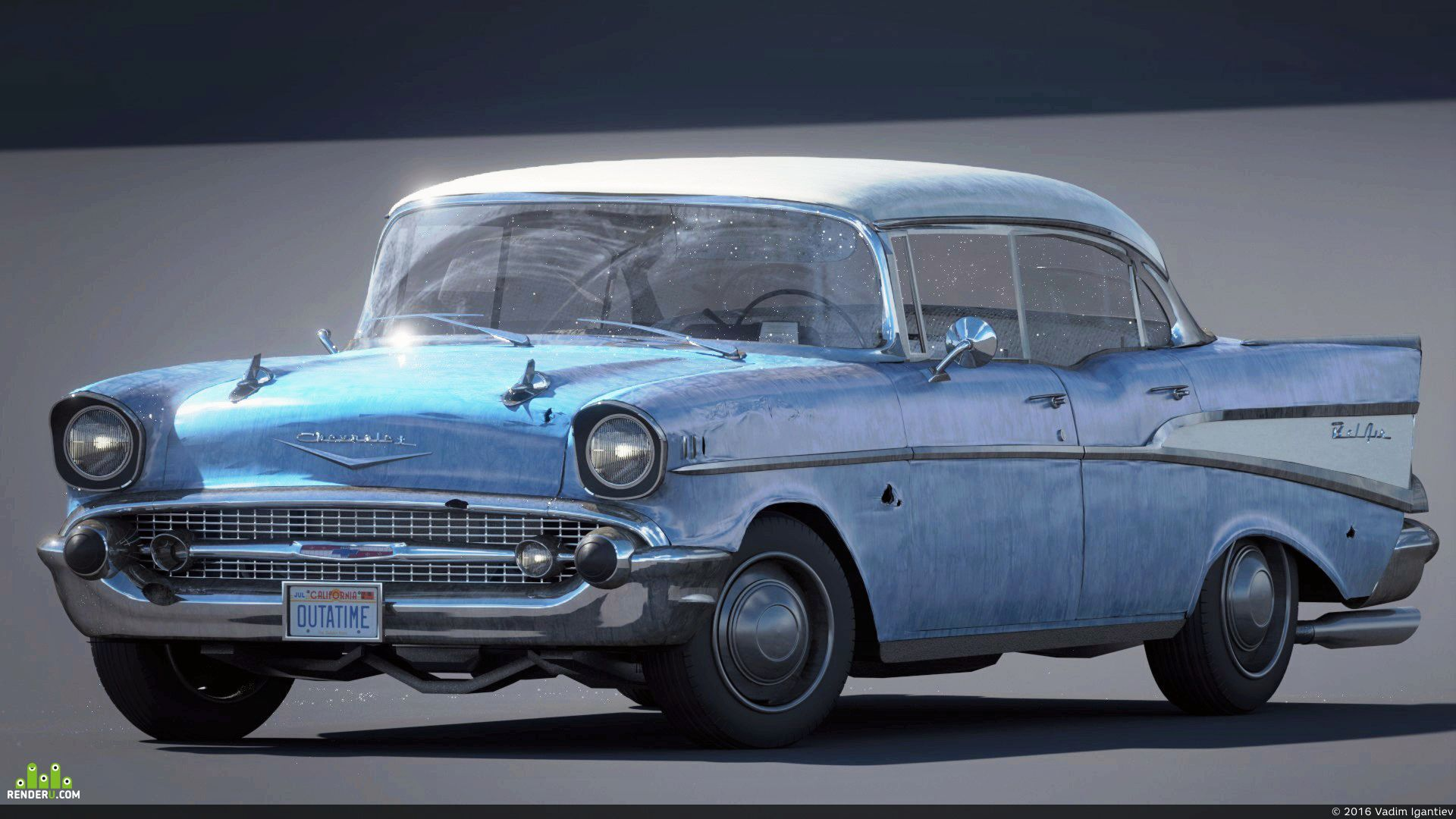 preview Chevrolet Bel Air 1957