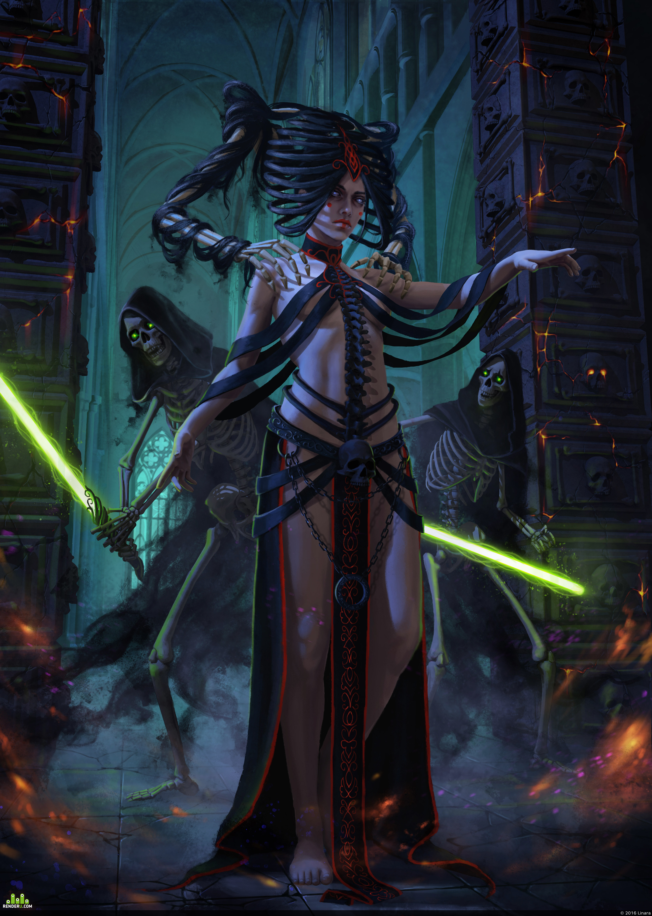 preview Undead Padme Amidala