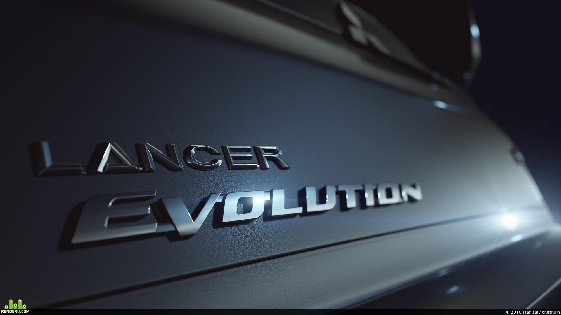 preview Mitsubishi Lancer Evolution IX