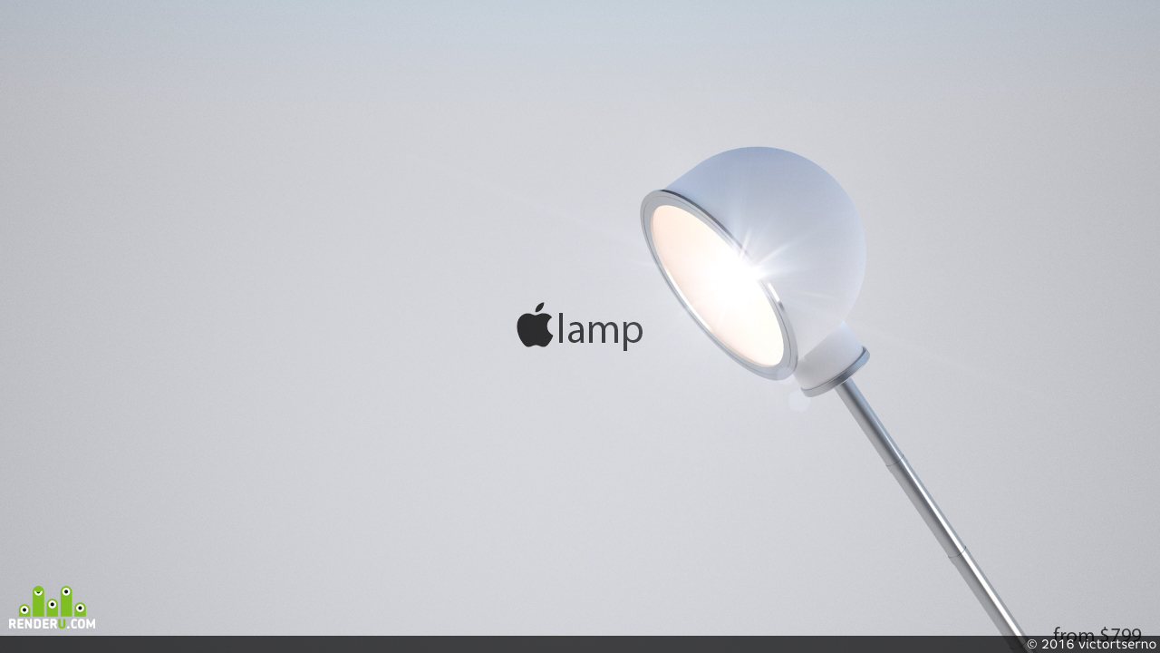 preview Apple Lamp