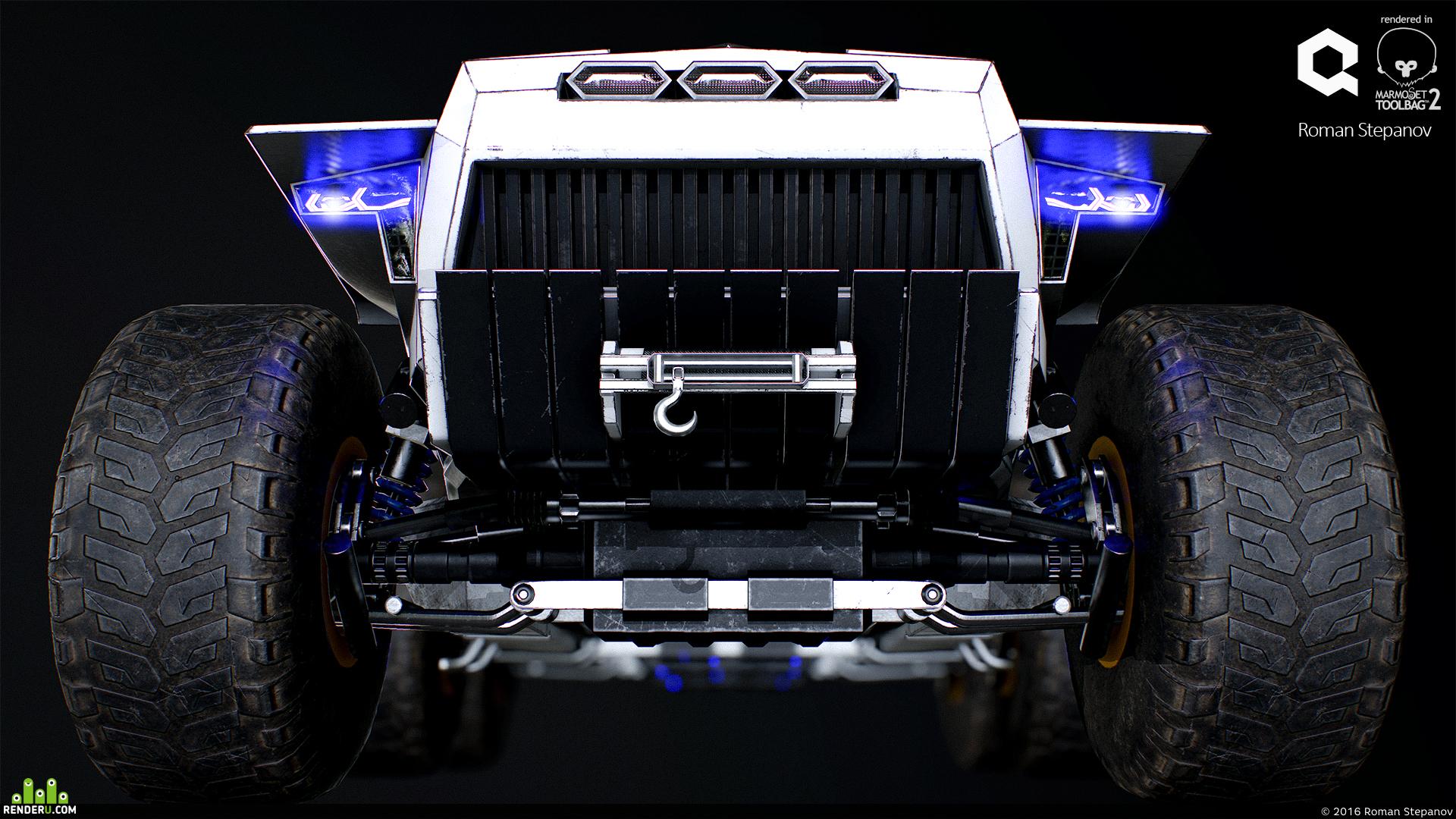 preview Sci-fi U35 Transporter