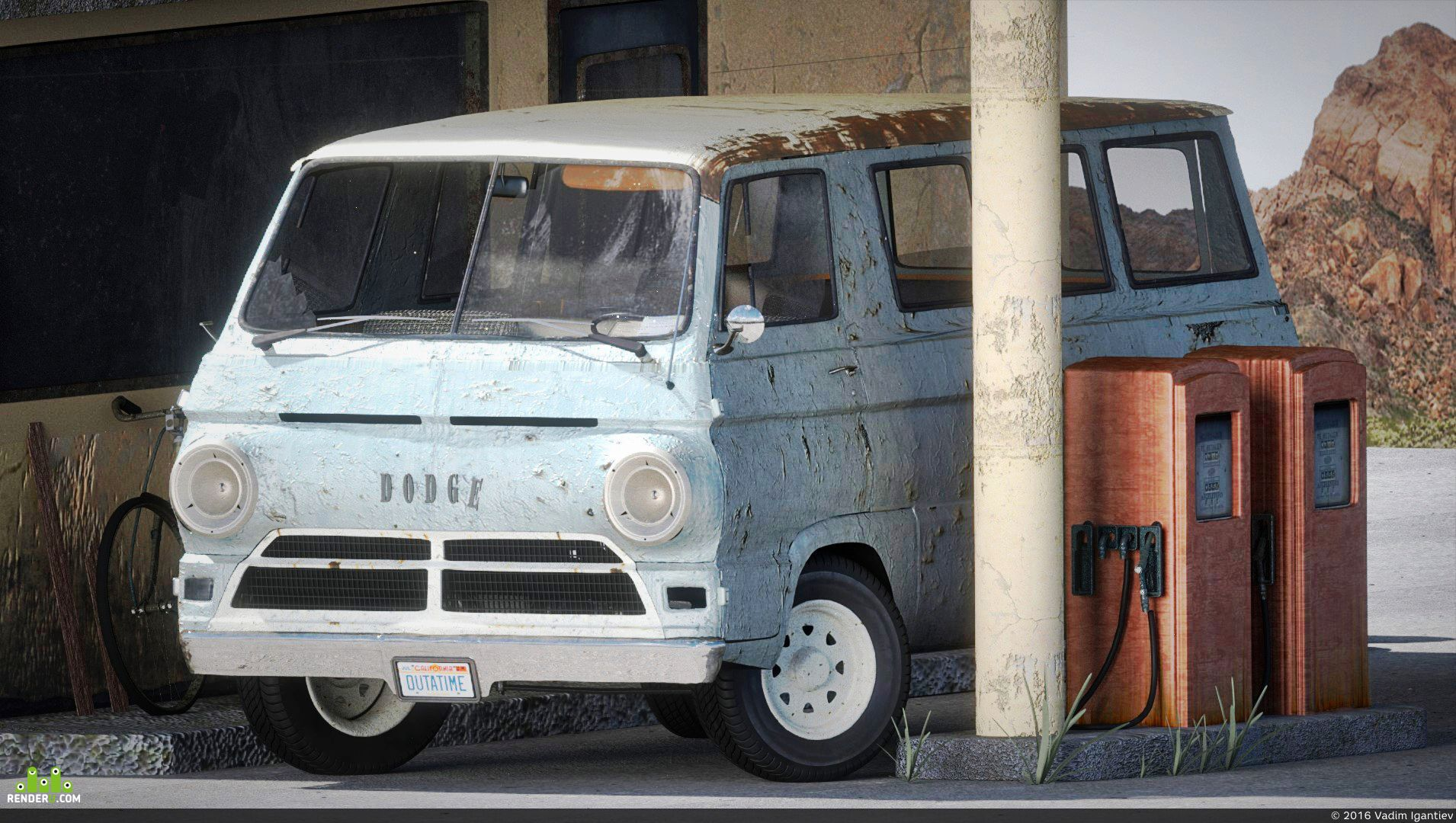 preview Dodge A100 van 1969