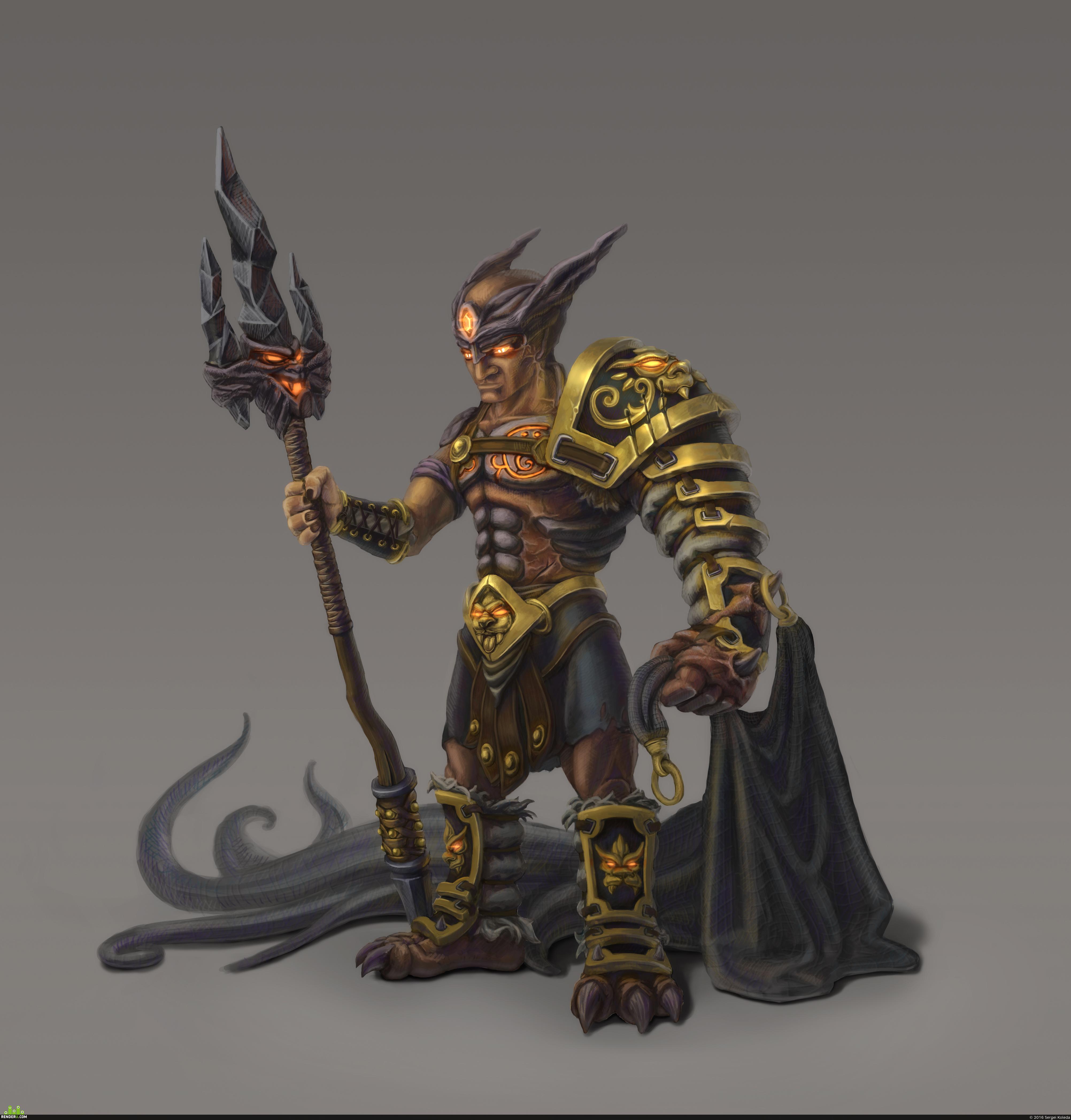 preview Демон гладиатор