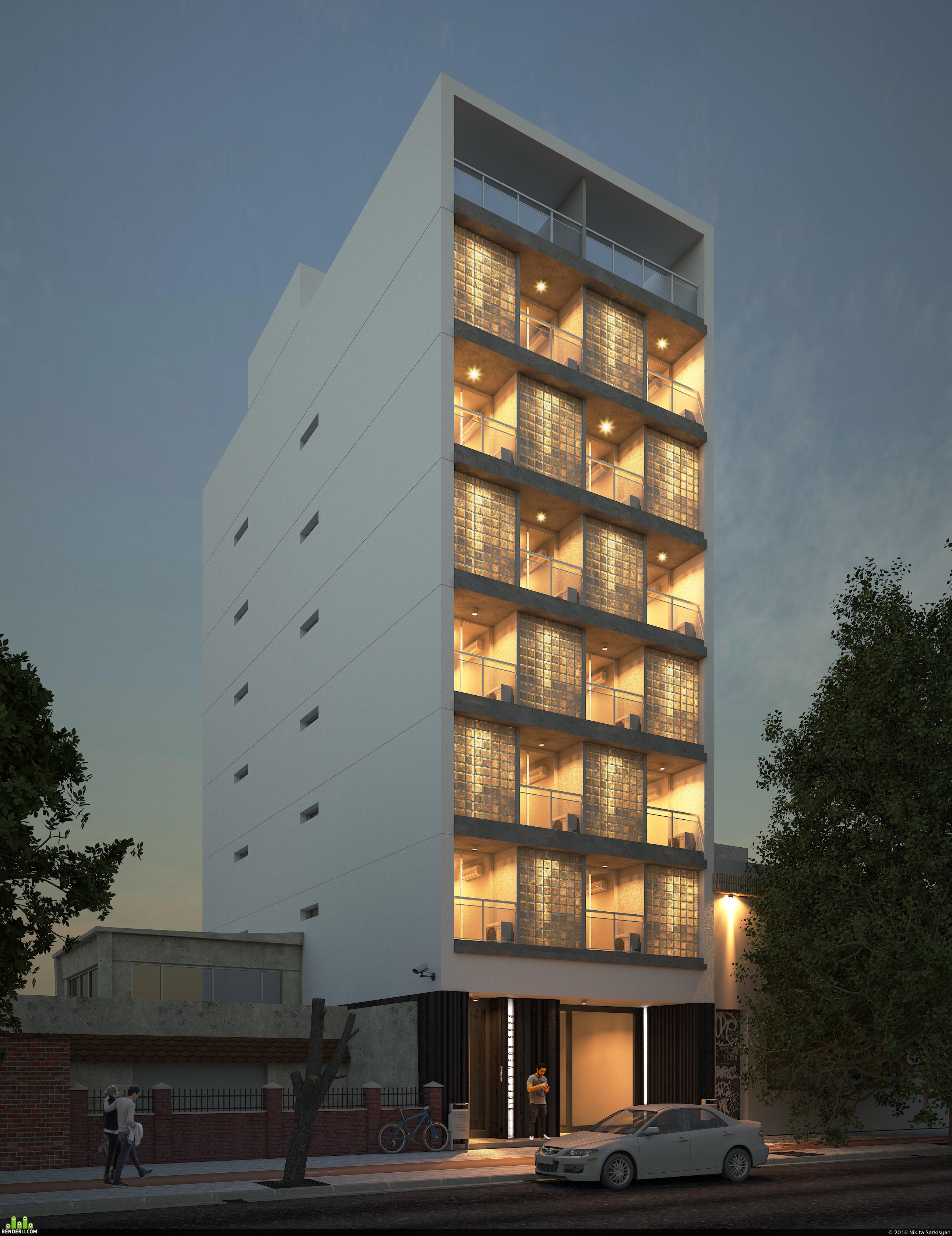 preview Жилой многоэтажный  дом