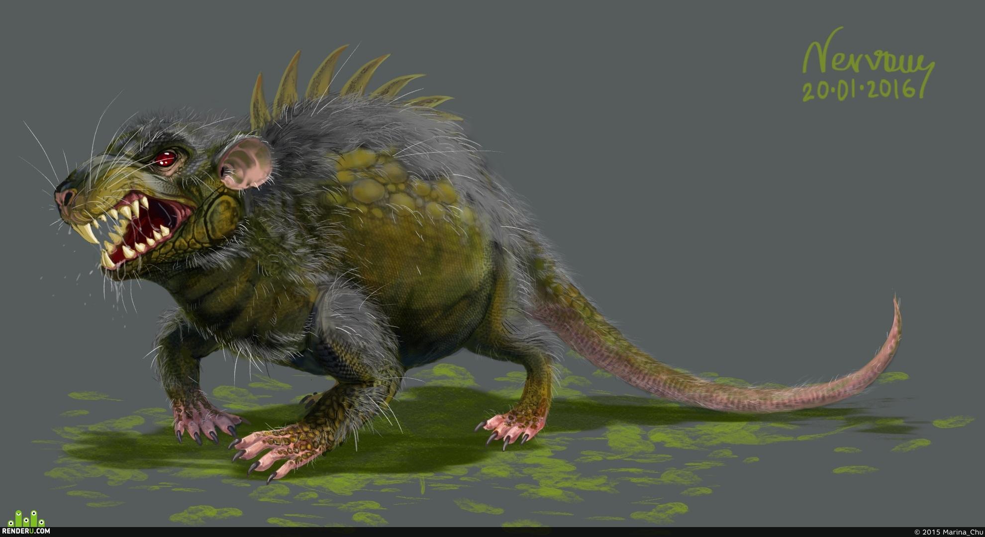 preview Крысоящер