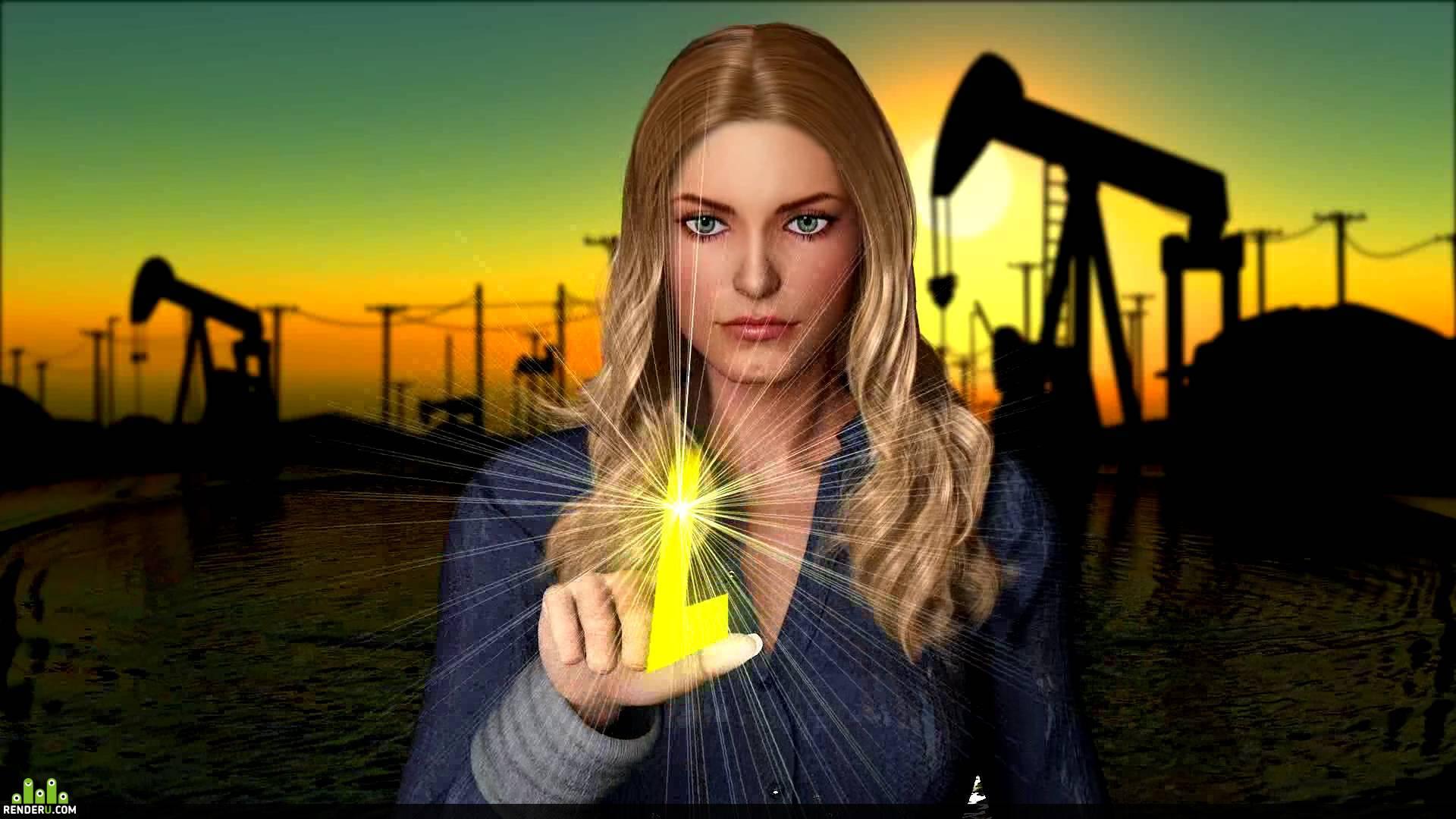 preview Рекламный ролик для нефтяной компании