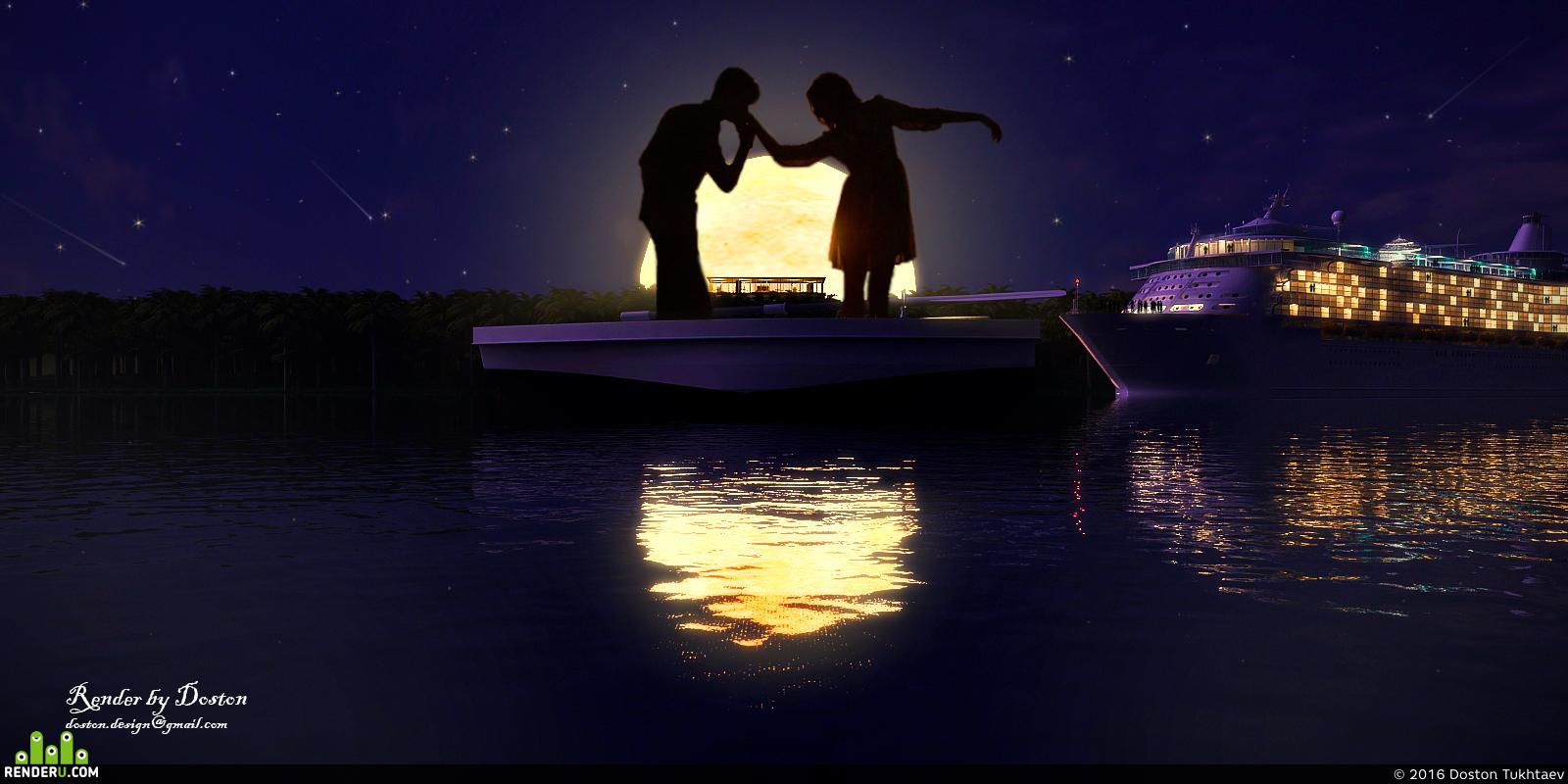 preview Луна, море и любовь